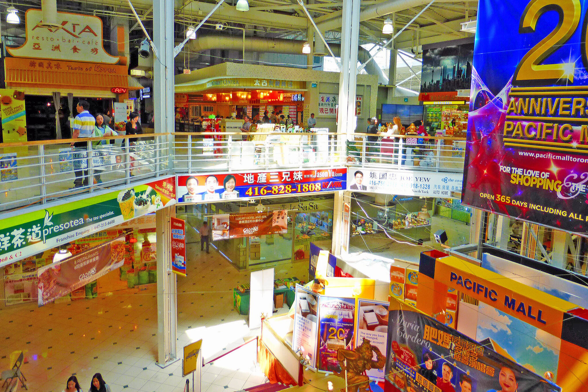 pacific mall open