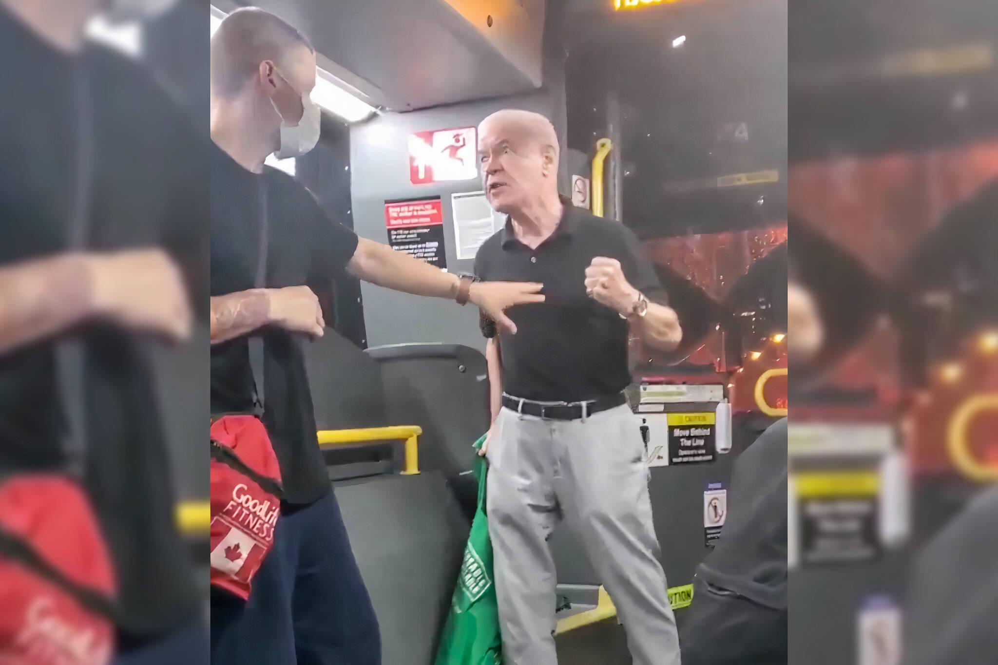 toronto bus fight