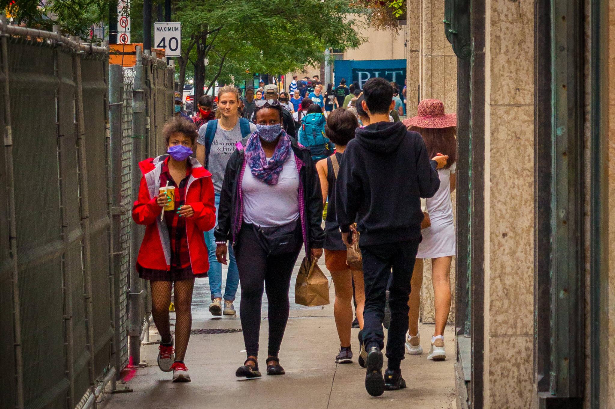 pedestrian traffic toronto