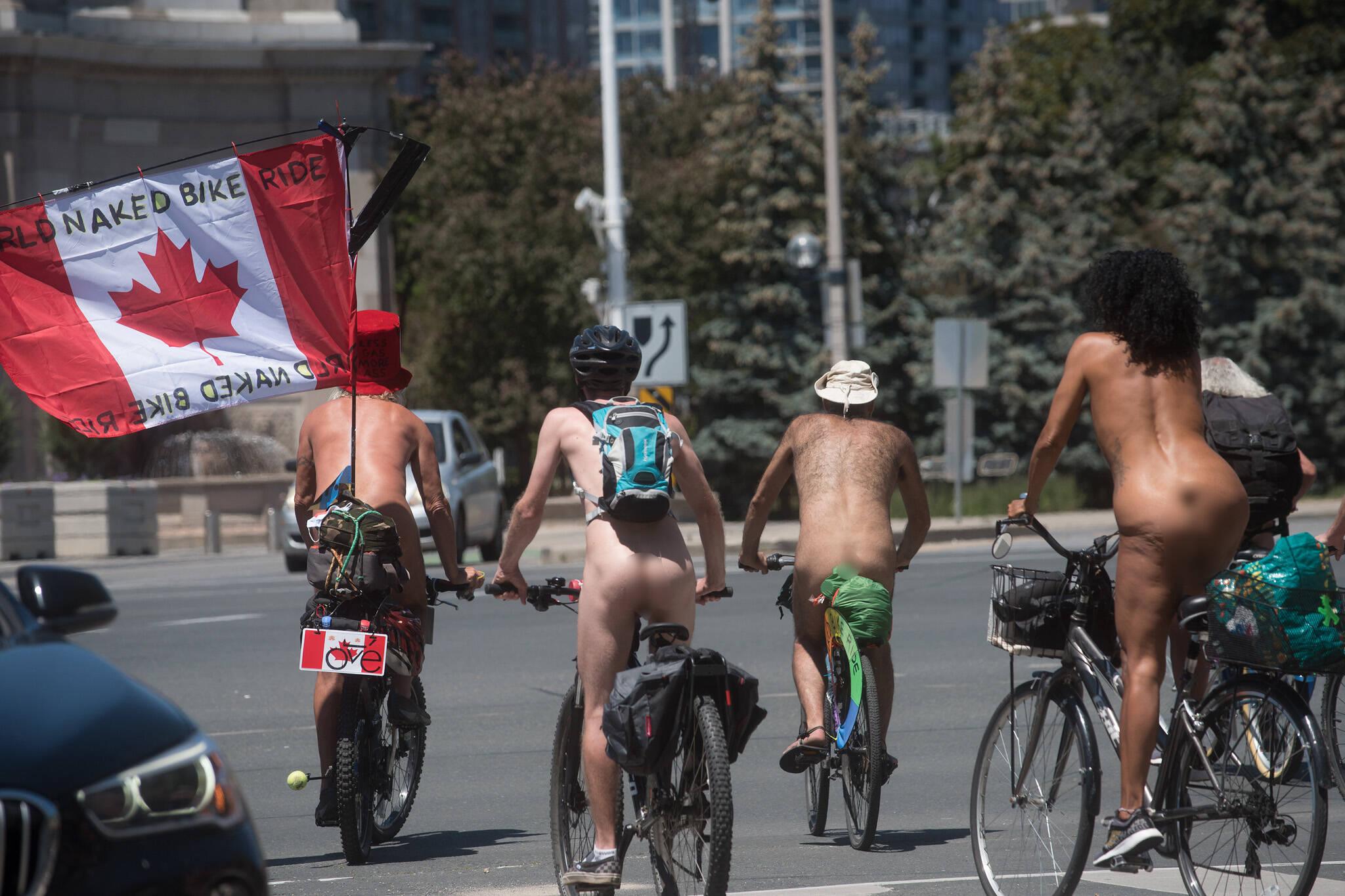toronto naked bike ride