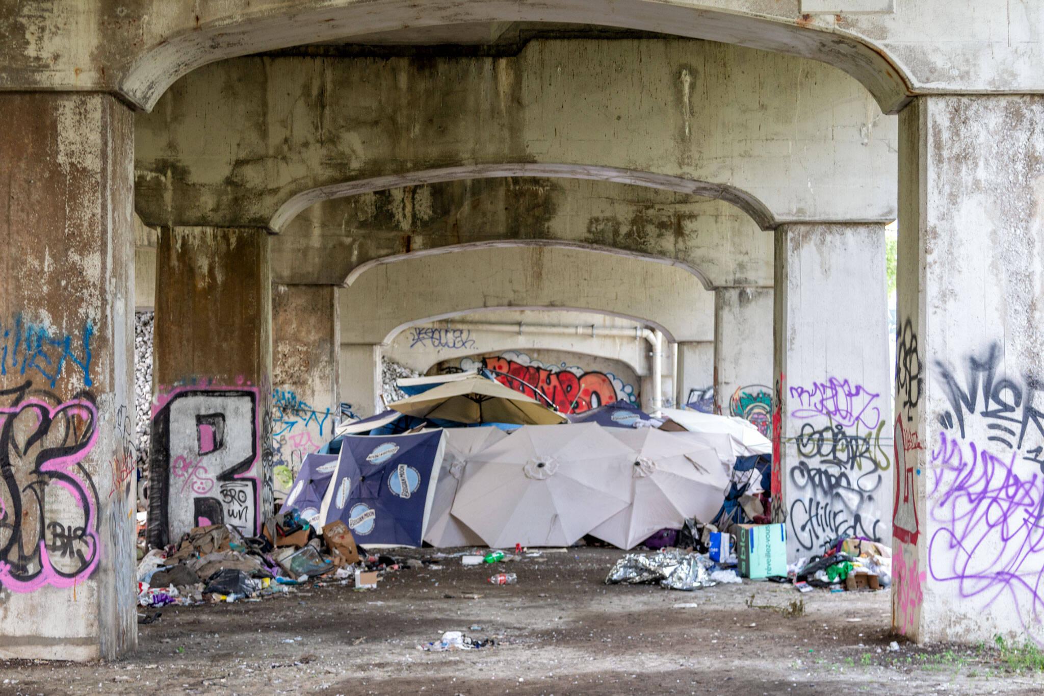 homeless encampments toronto