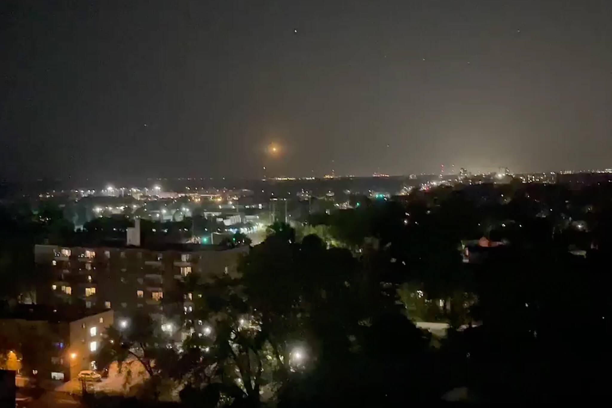 lights over lake ontario