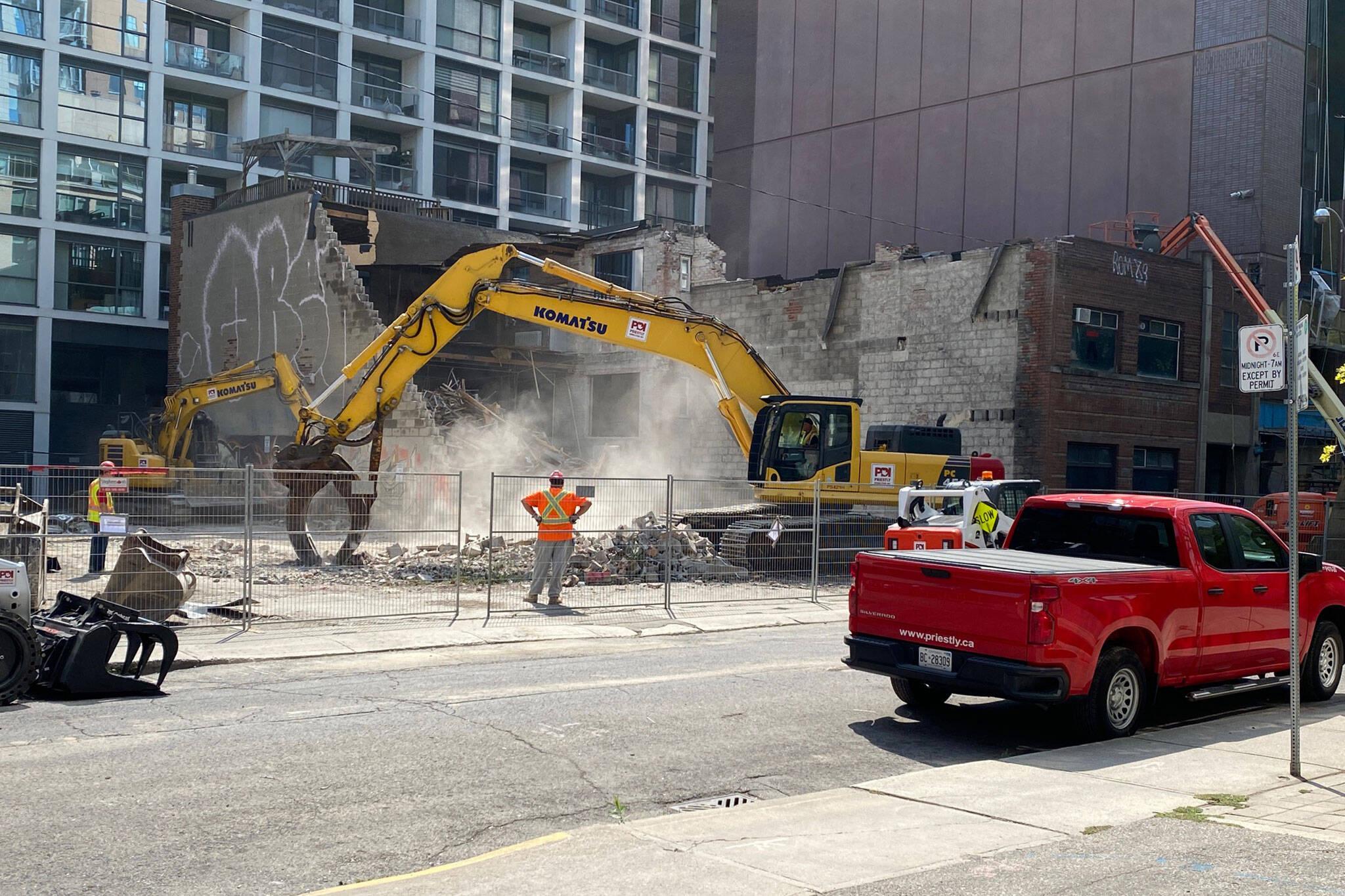 demolition heritage building toronto