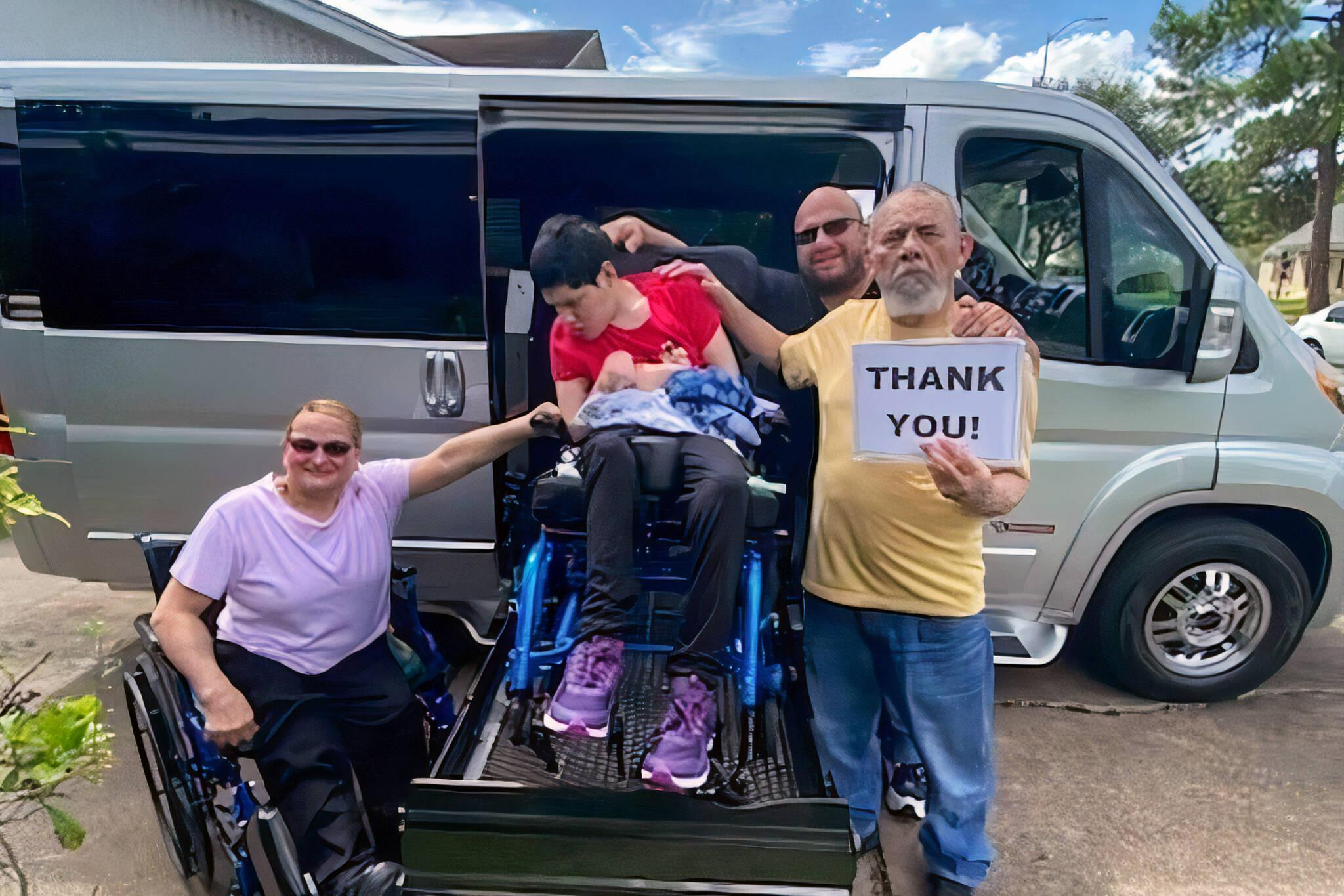 drake wheelchair van