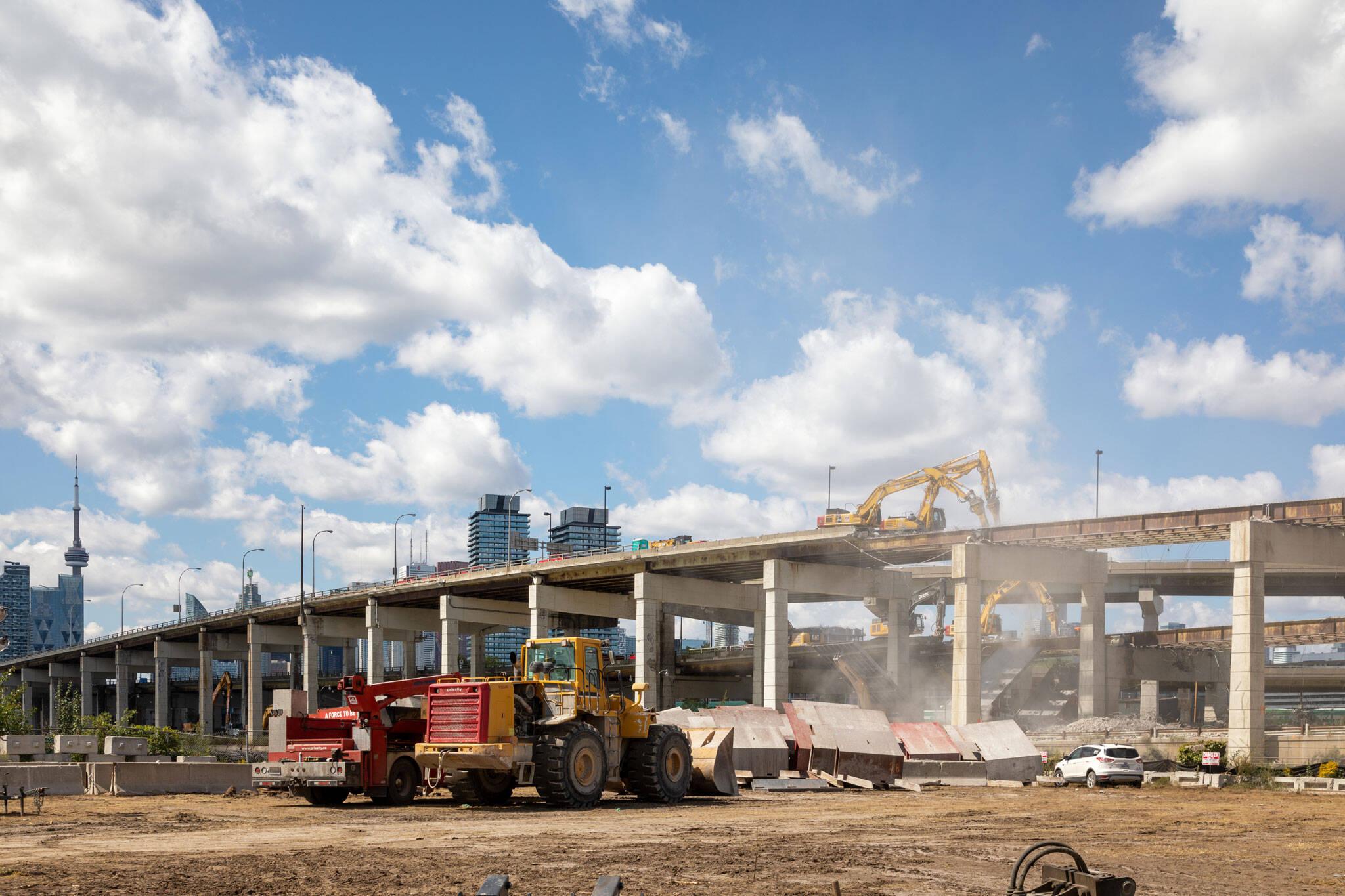 gardiner demolition