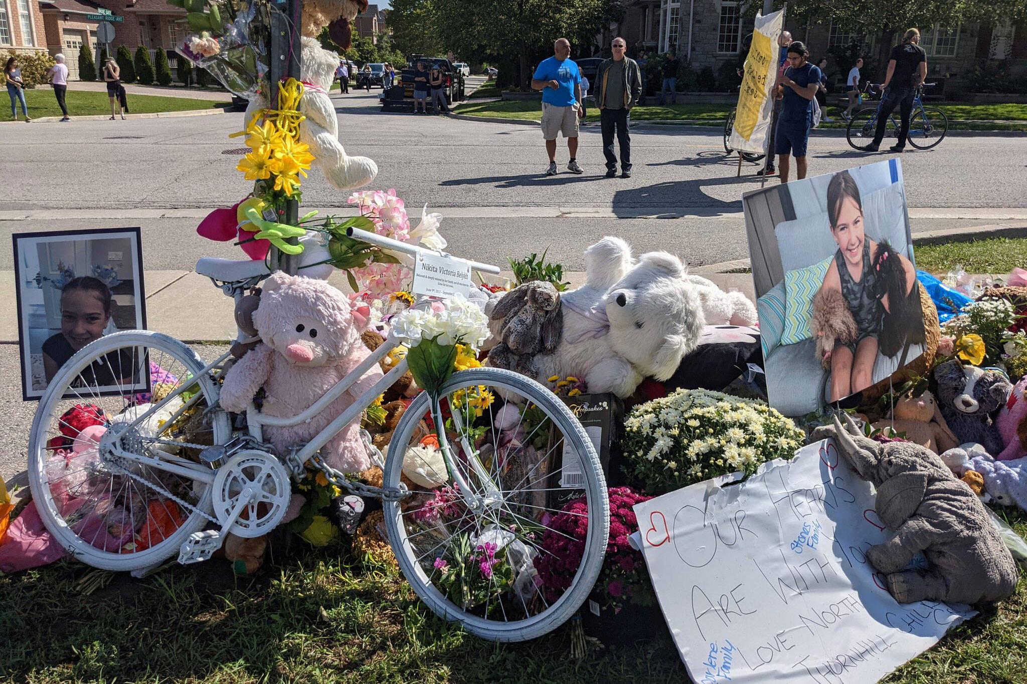 cyclist killed nikita