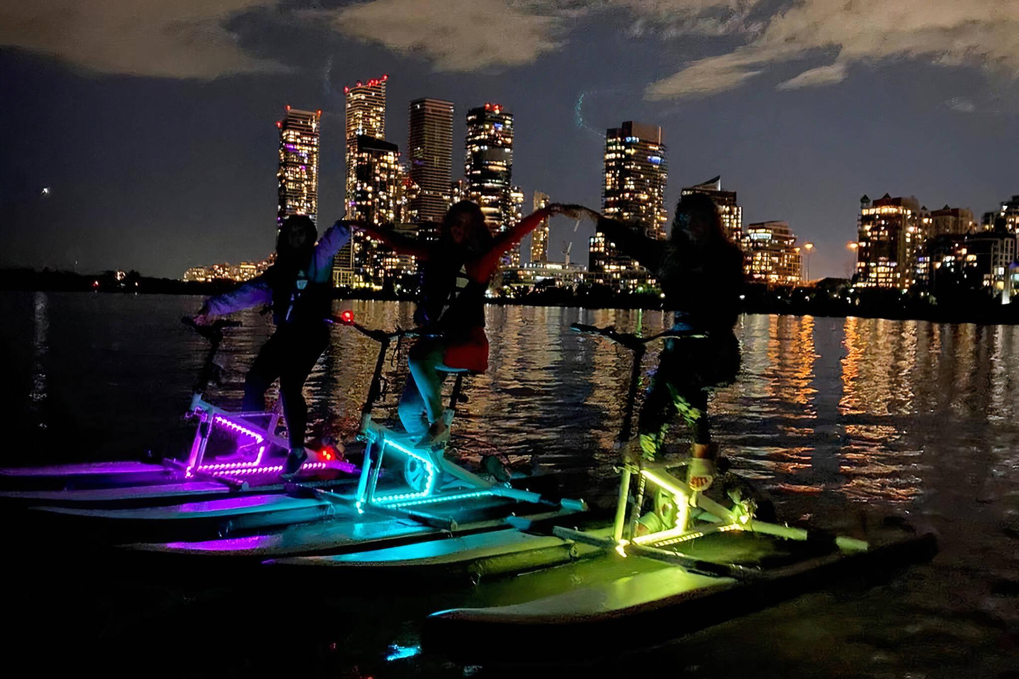 toronto water bikes