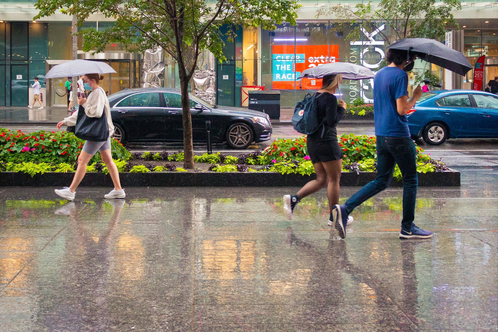 toronto weather rain