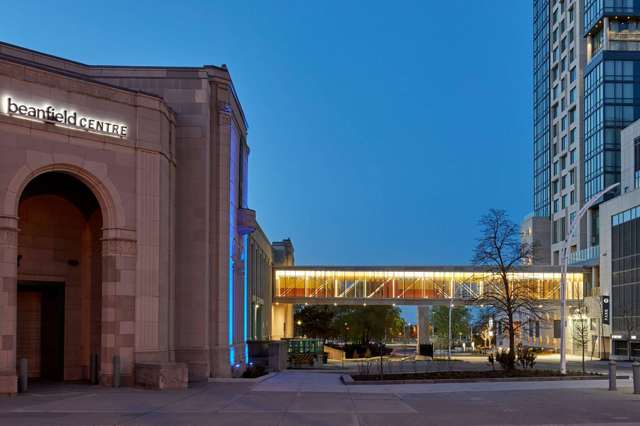 Hotel X bridge exhibition place