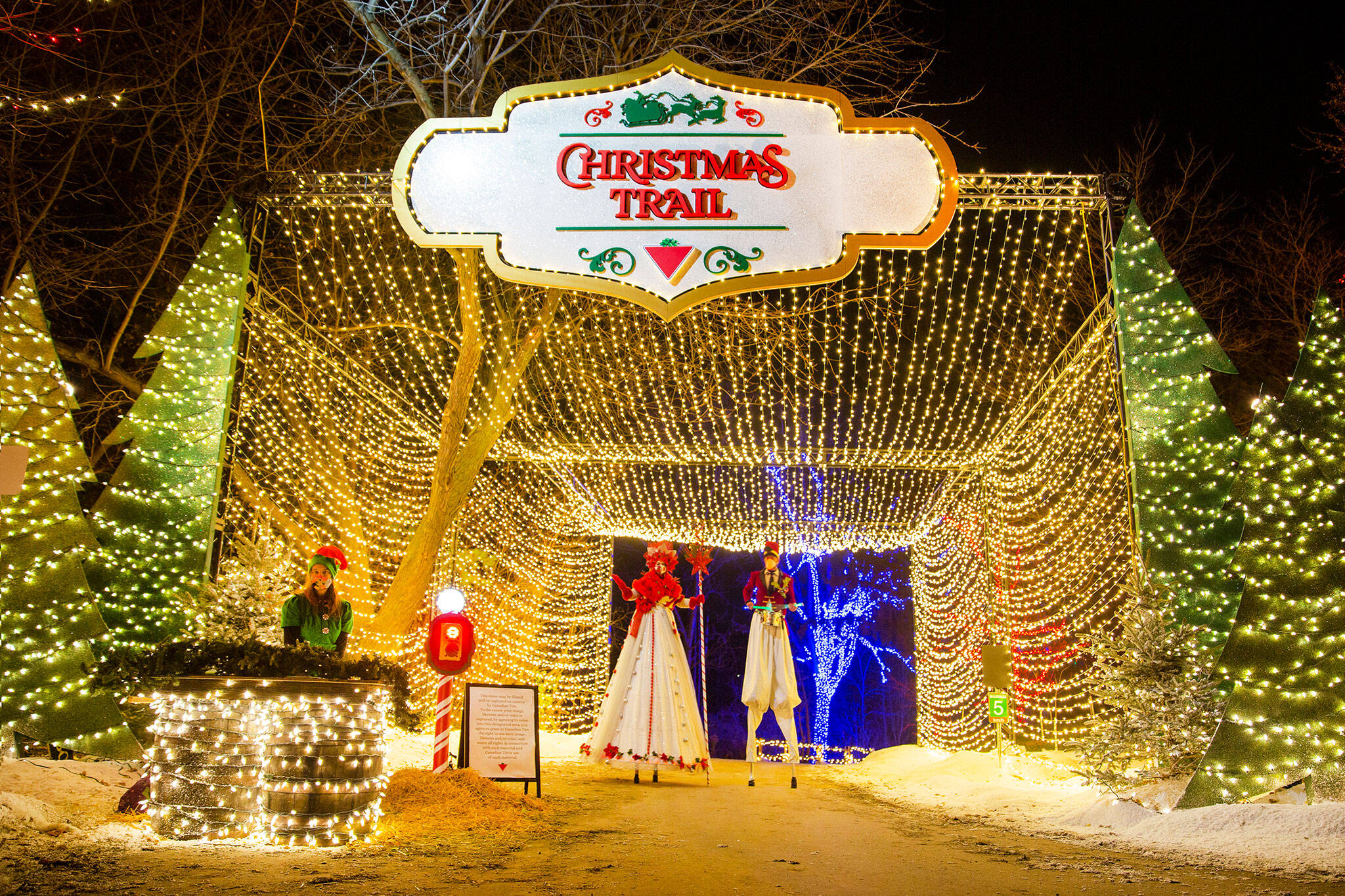 canadian tire christmas trail 2021