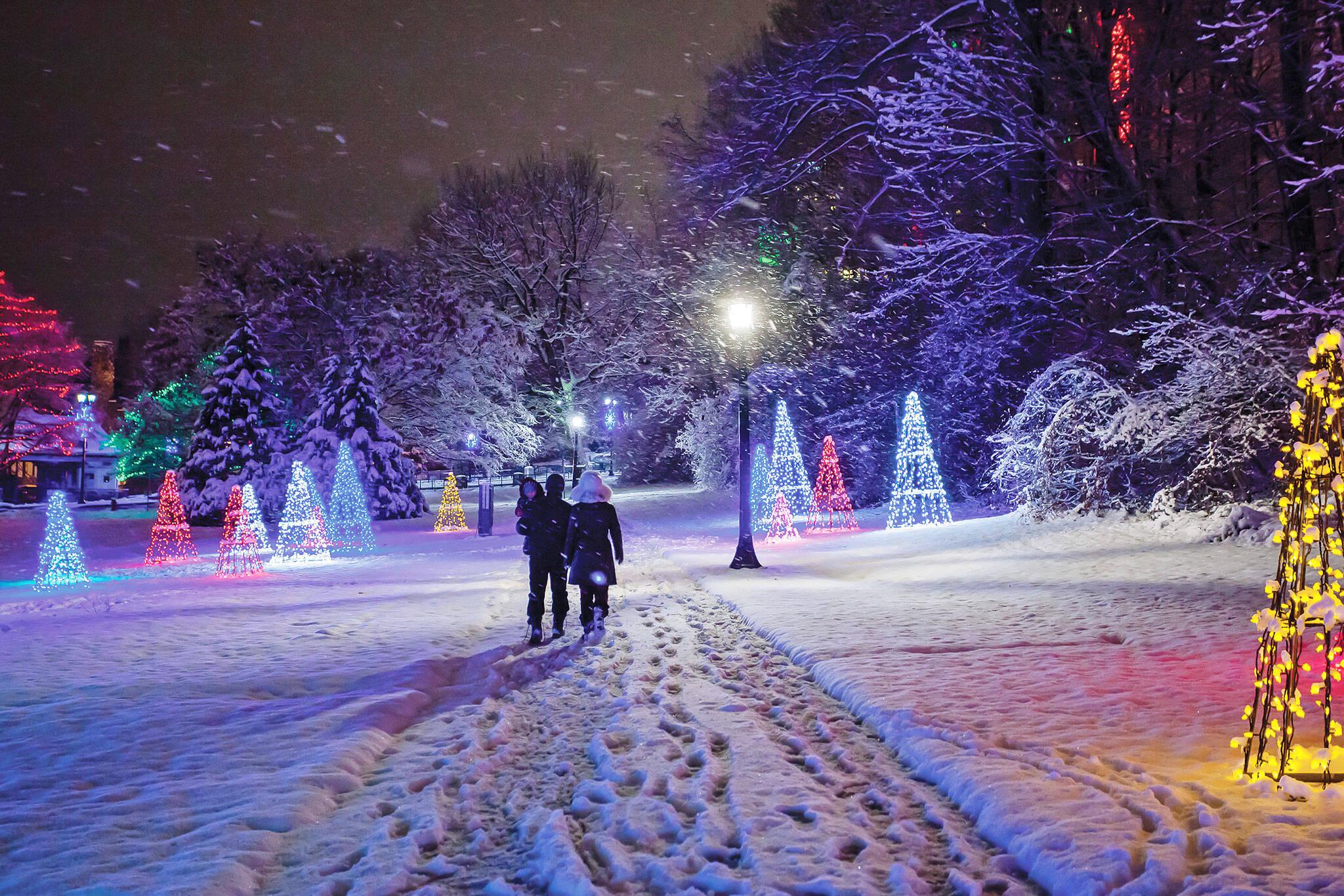 niagara falls festival of lights 2021