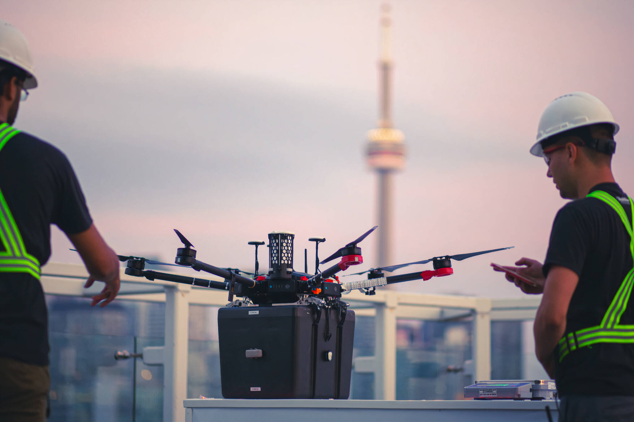 lung drone toronto
