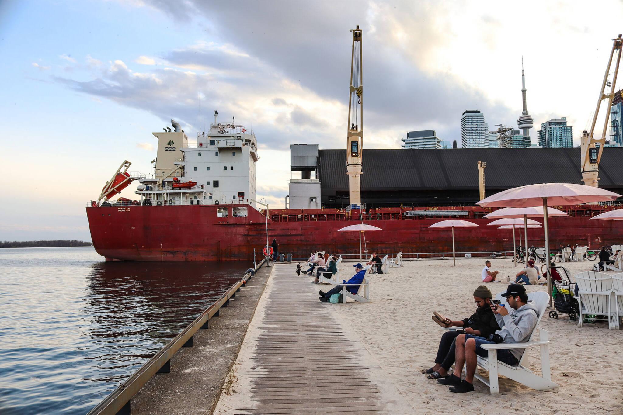 oil spill sugar beach