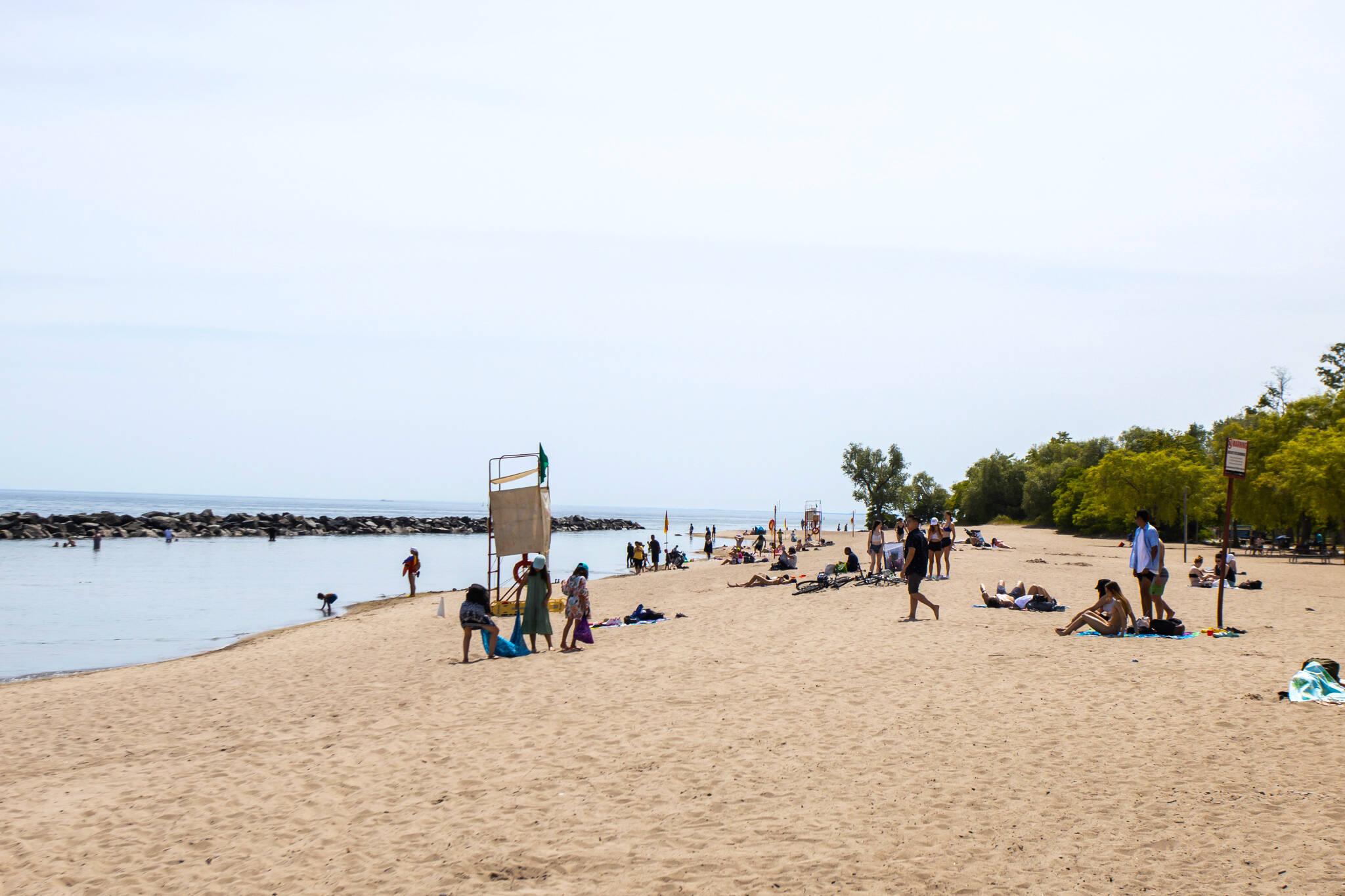 centre island beach