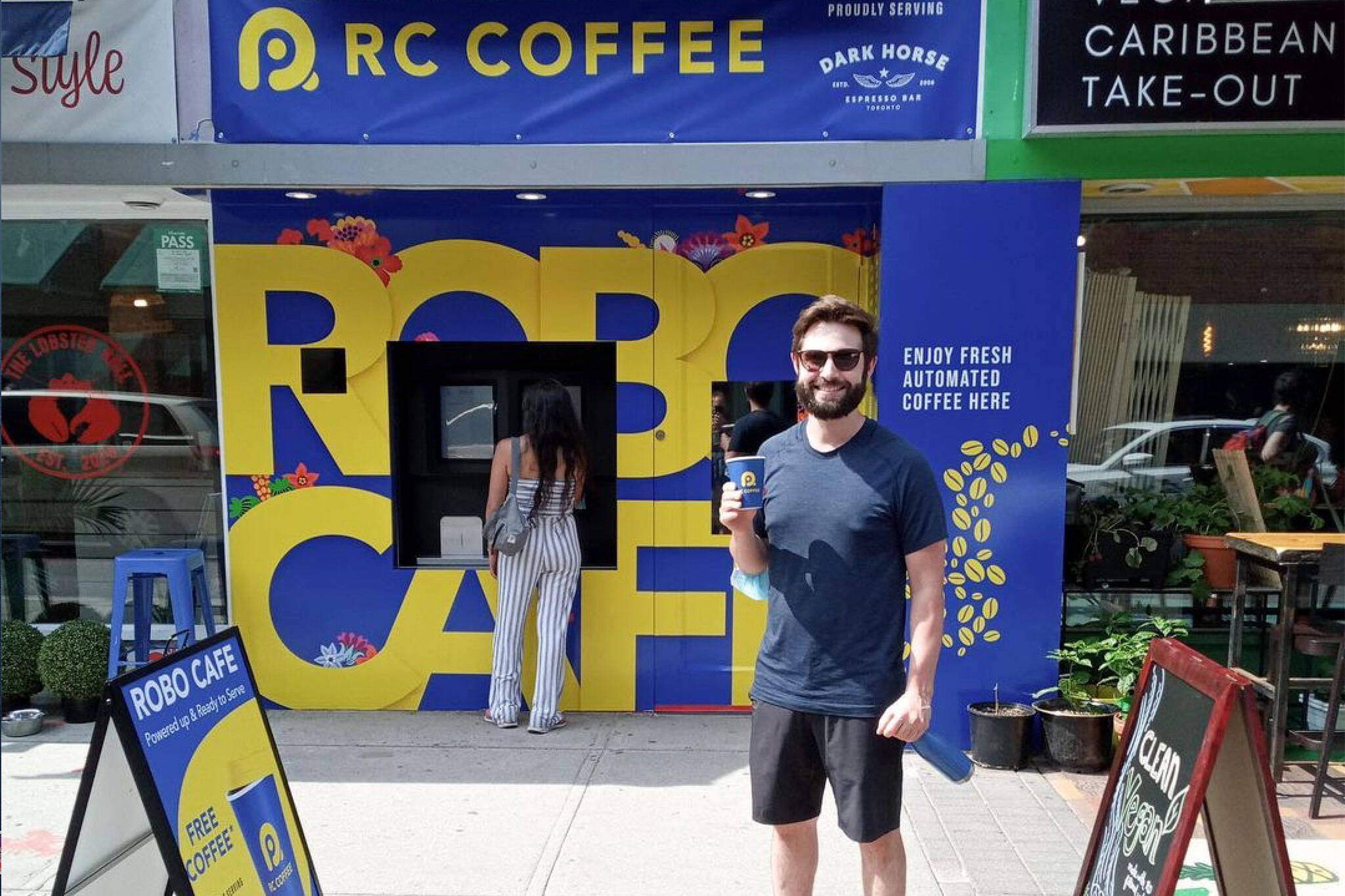 robo cafe Toronto
