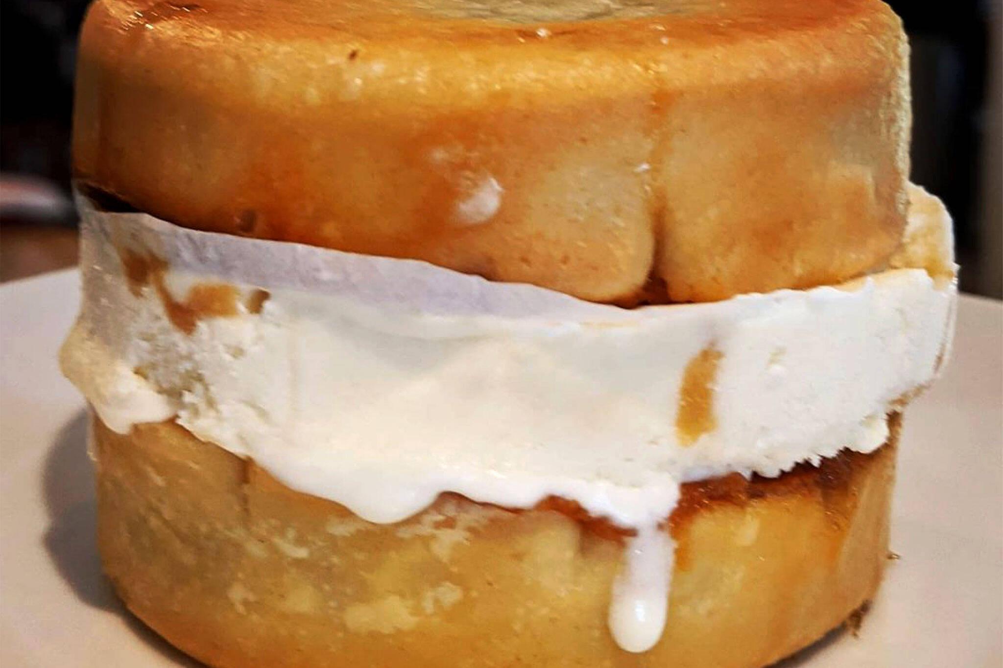 butter tart ice cream sandwich