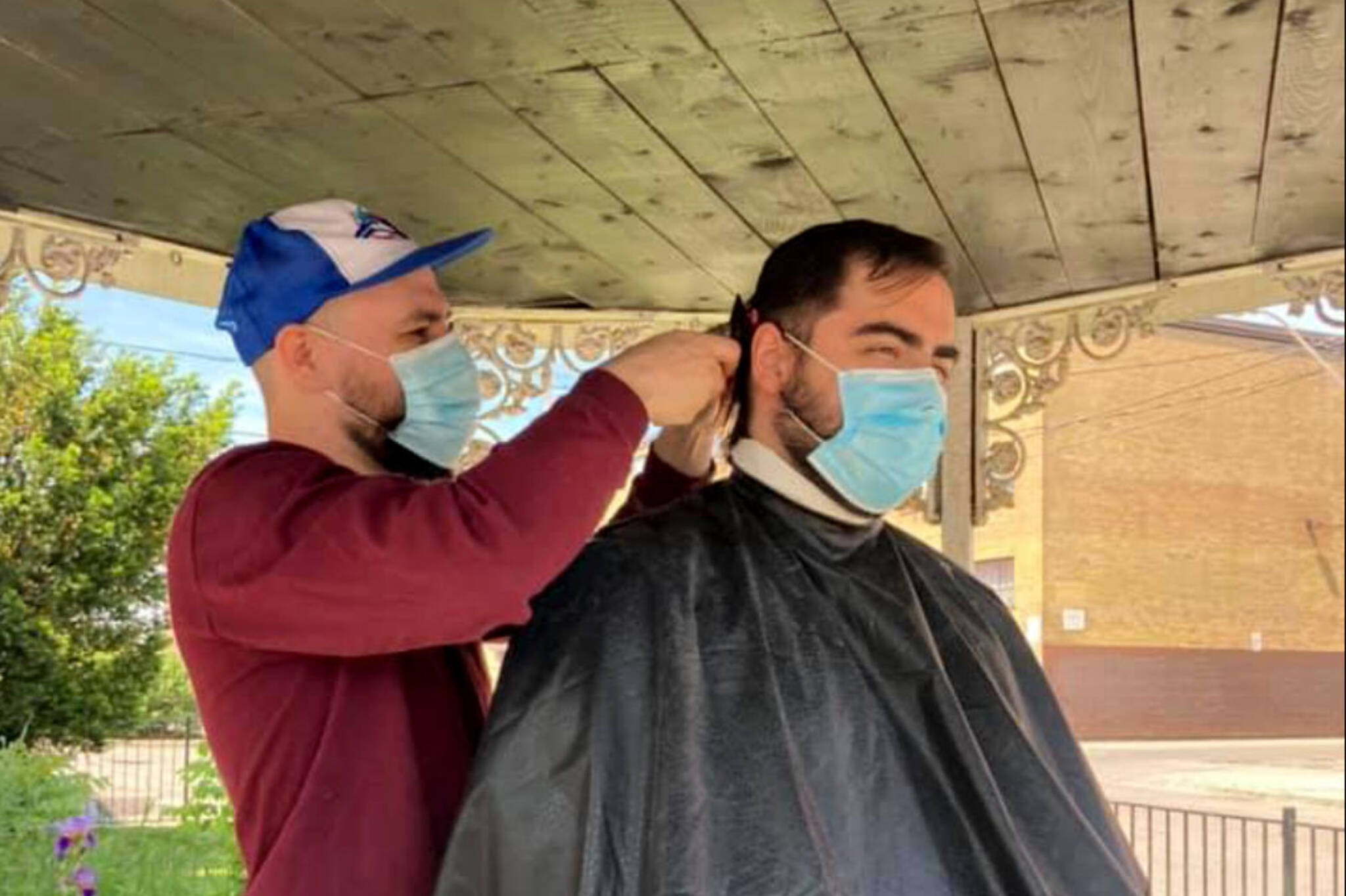 outdoor haircuts toronto