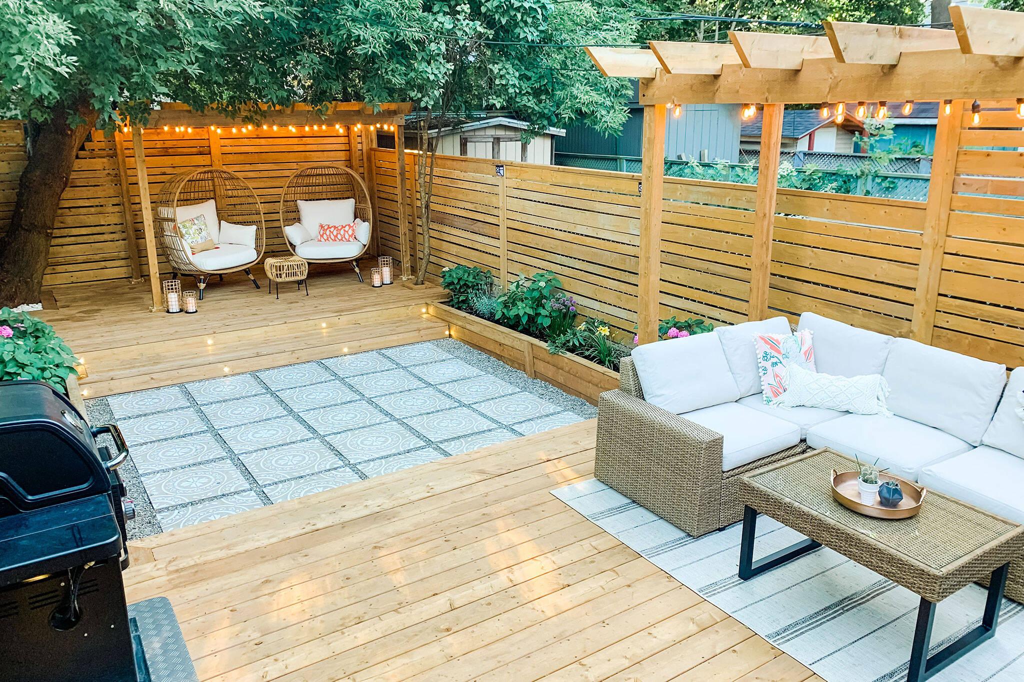 toronto backyard patio