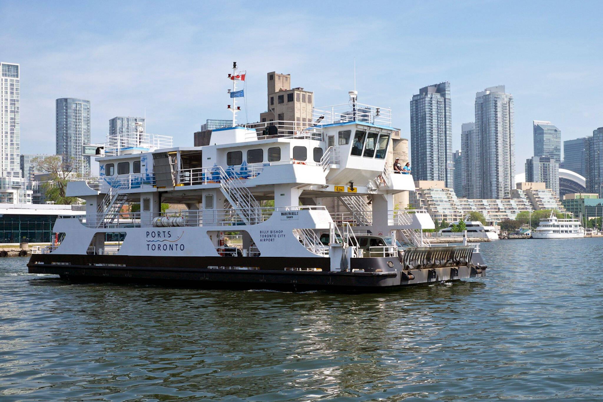 ferry toronto islands