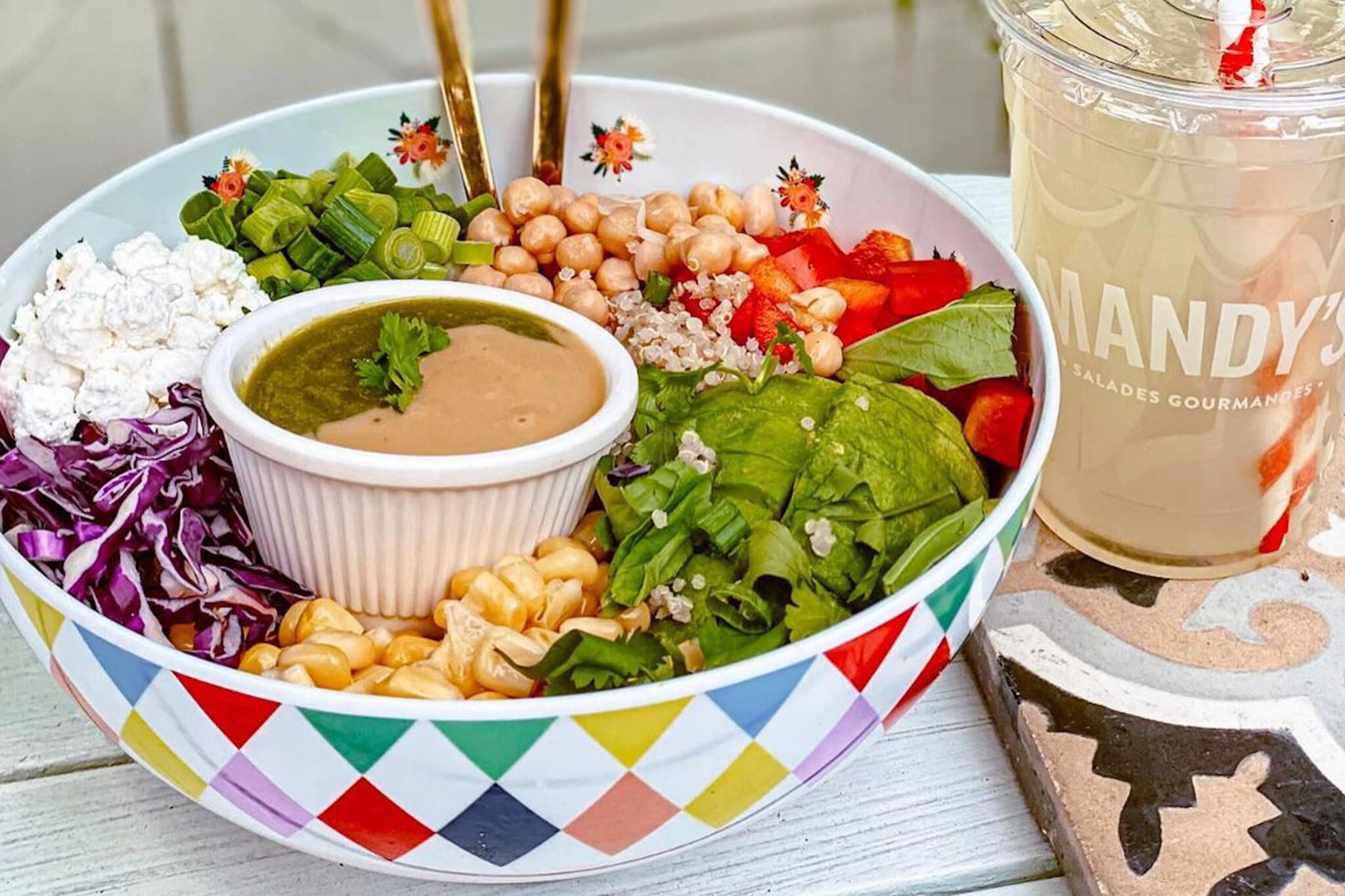 mandys salad toronto