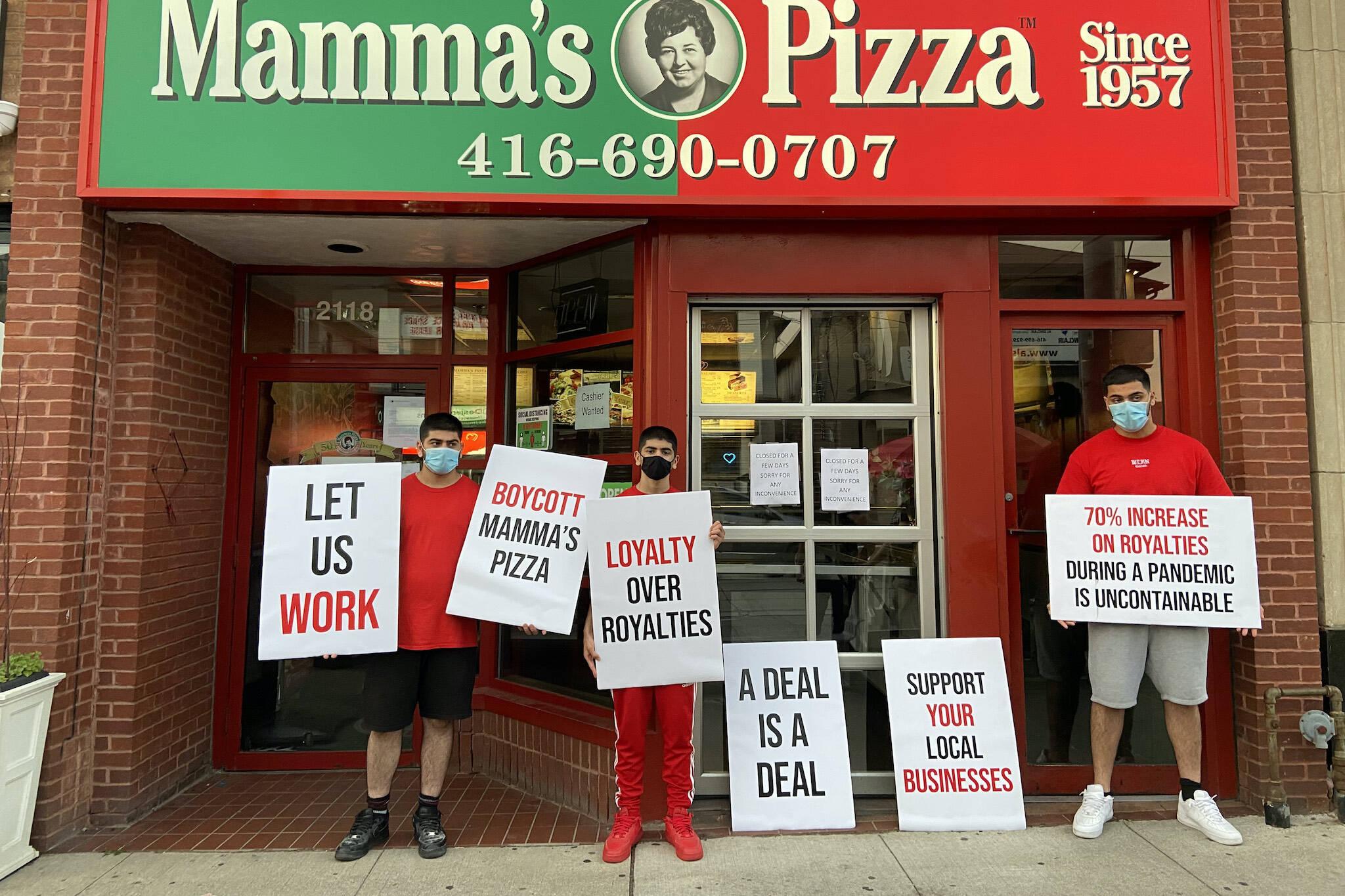 mammas pizza Toronto