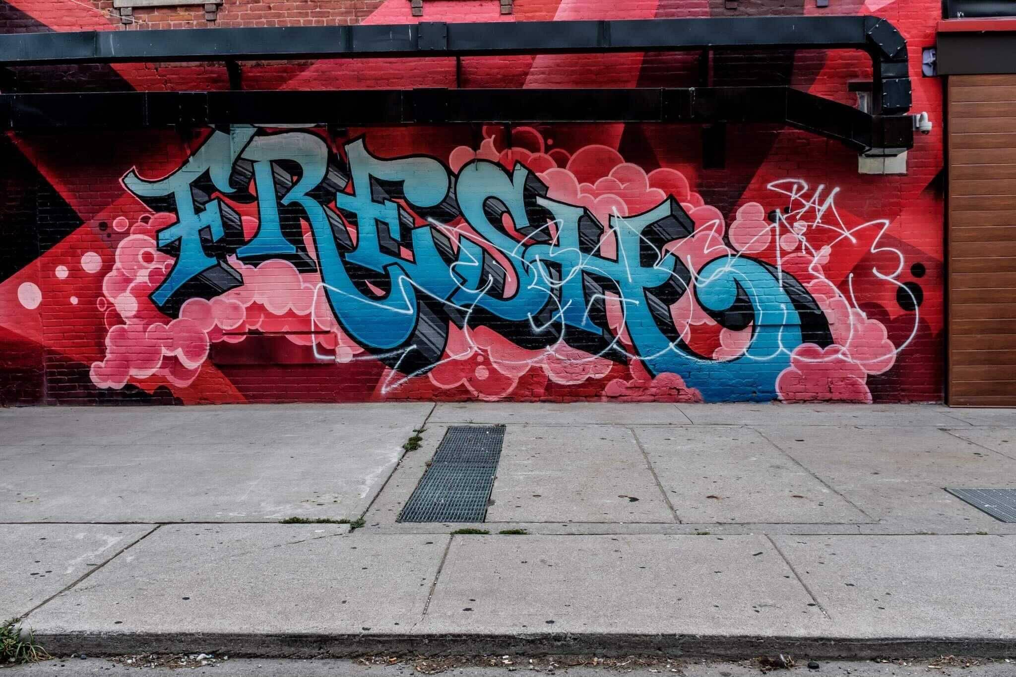 tagging murals toronto