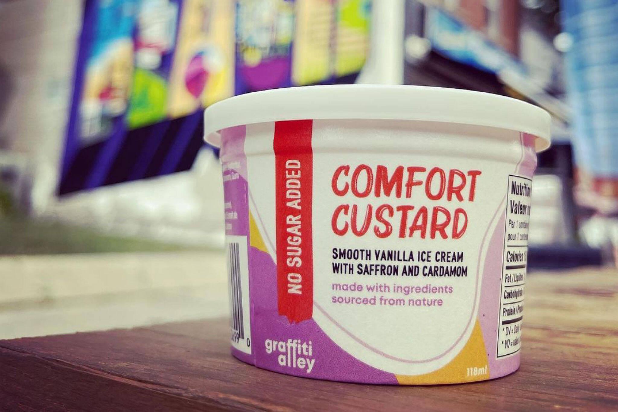 Graffiti Alley Ice Cream