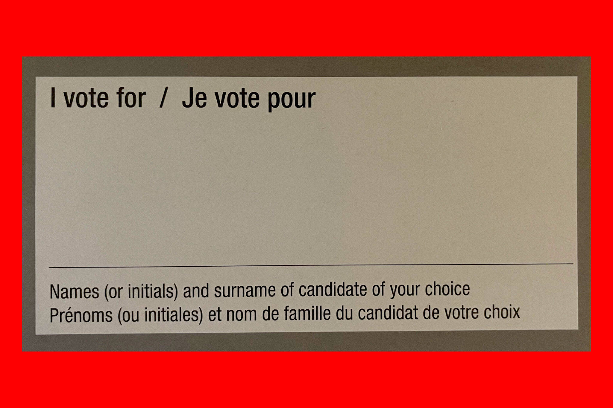 vote by mail canada
