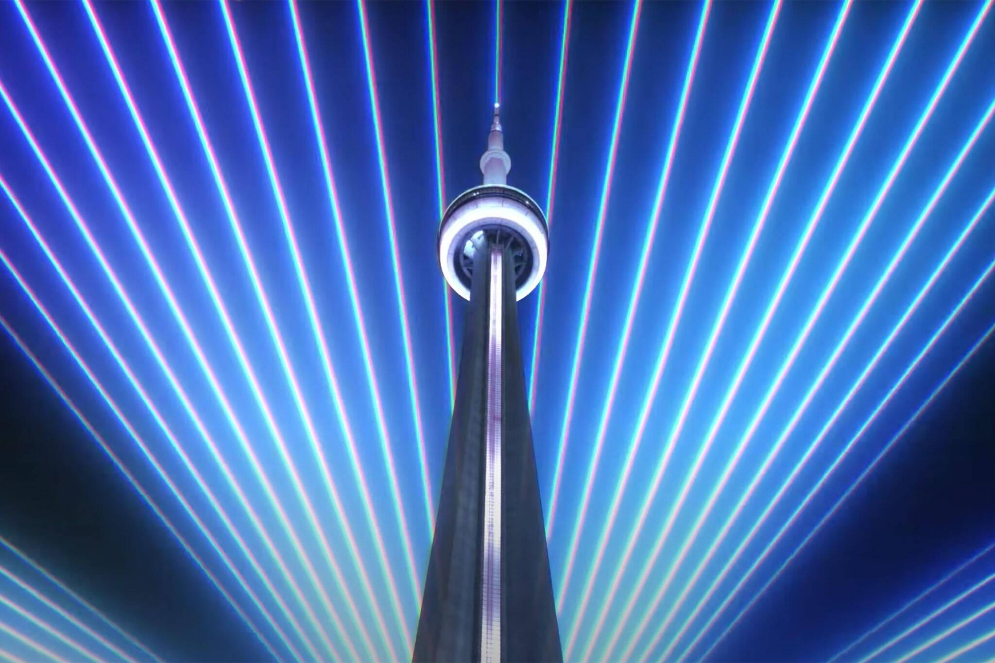 cn tower light of hope