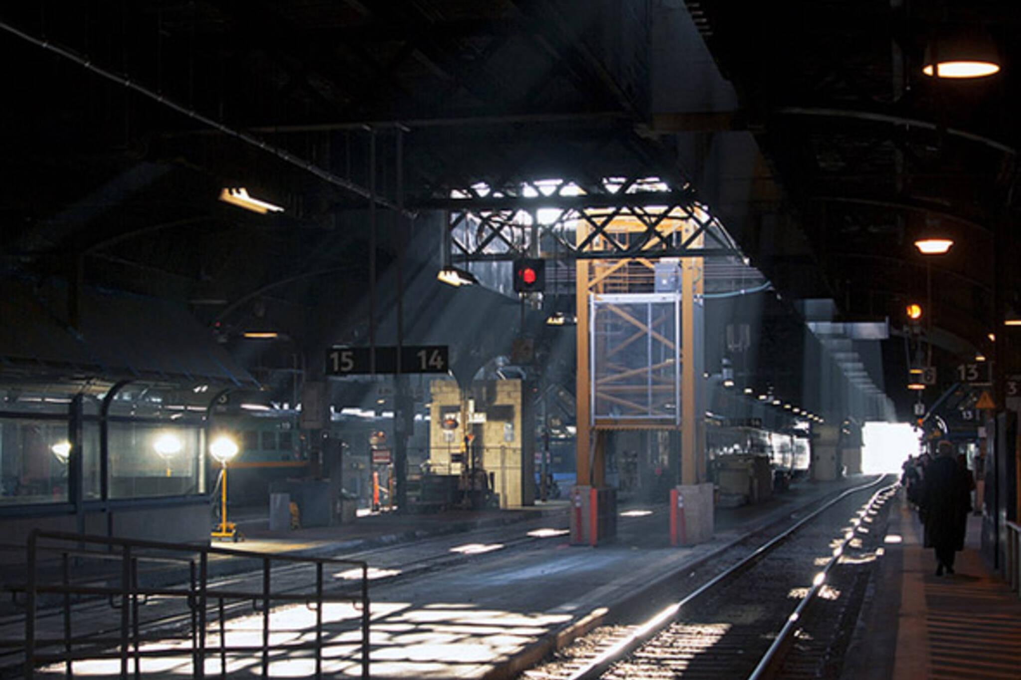 Union staion platform