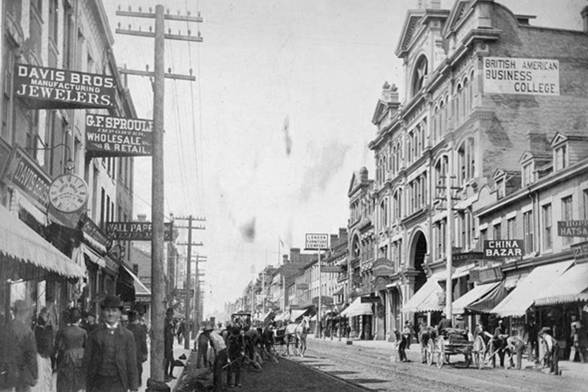 oldest street toronto