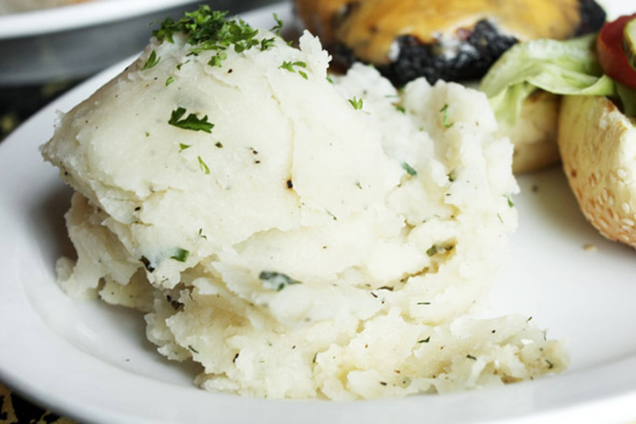 Mashed Potatoes at Victory Cafe