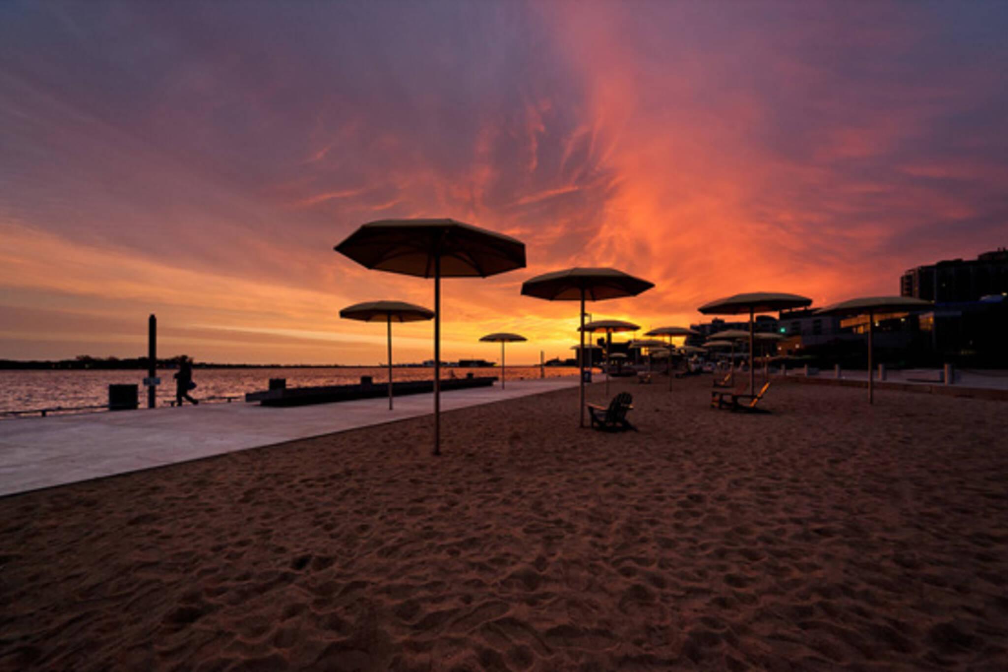 HTO Beach Sunset
