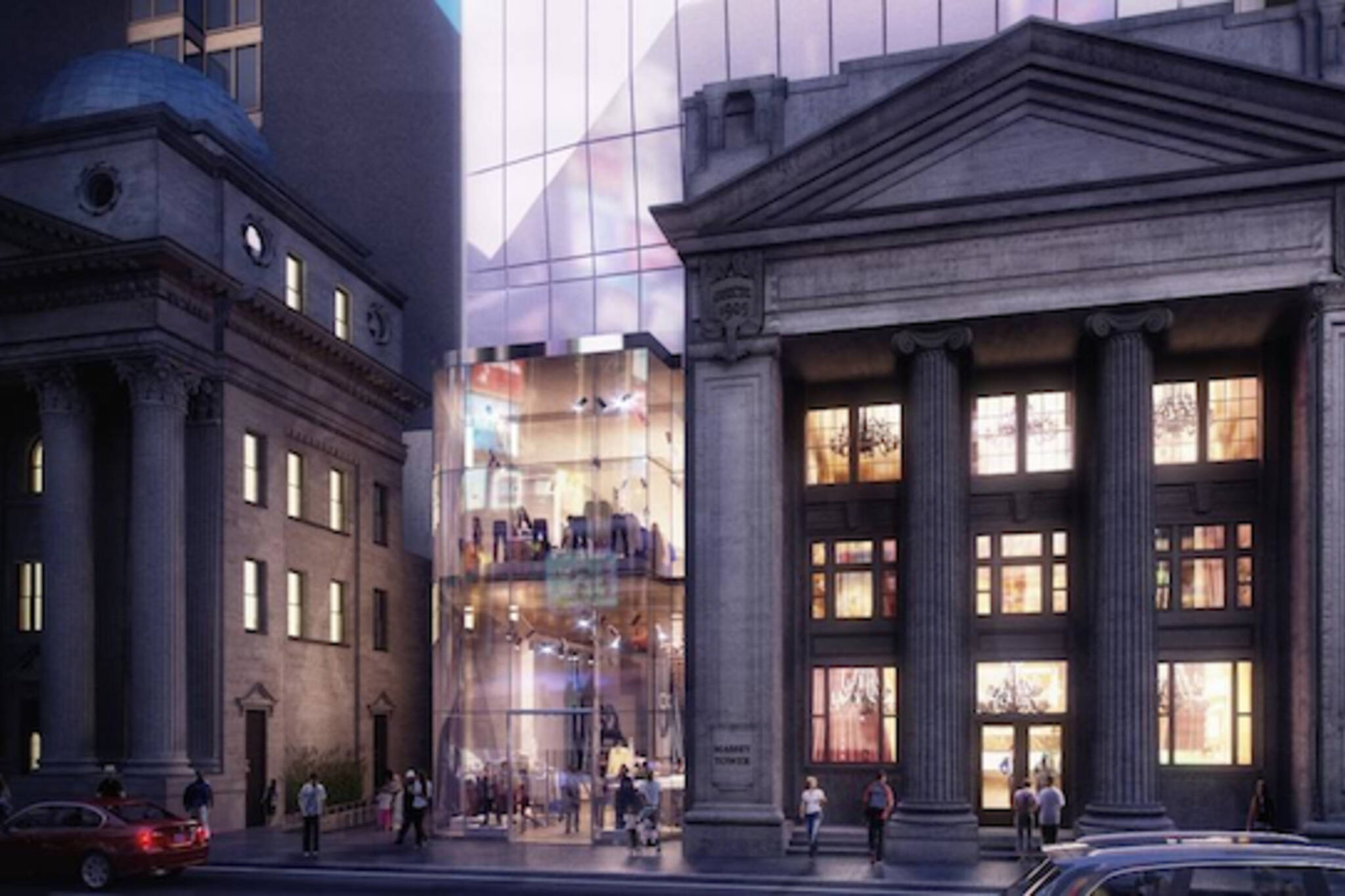 Massey Tower Yonge Street Street Level