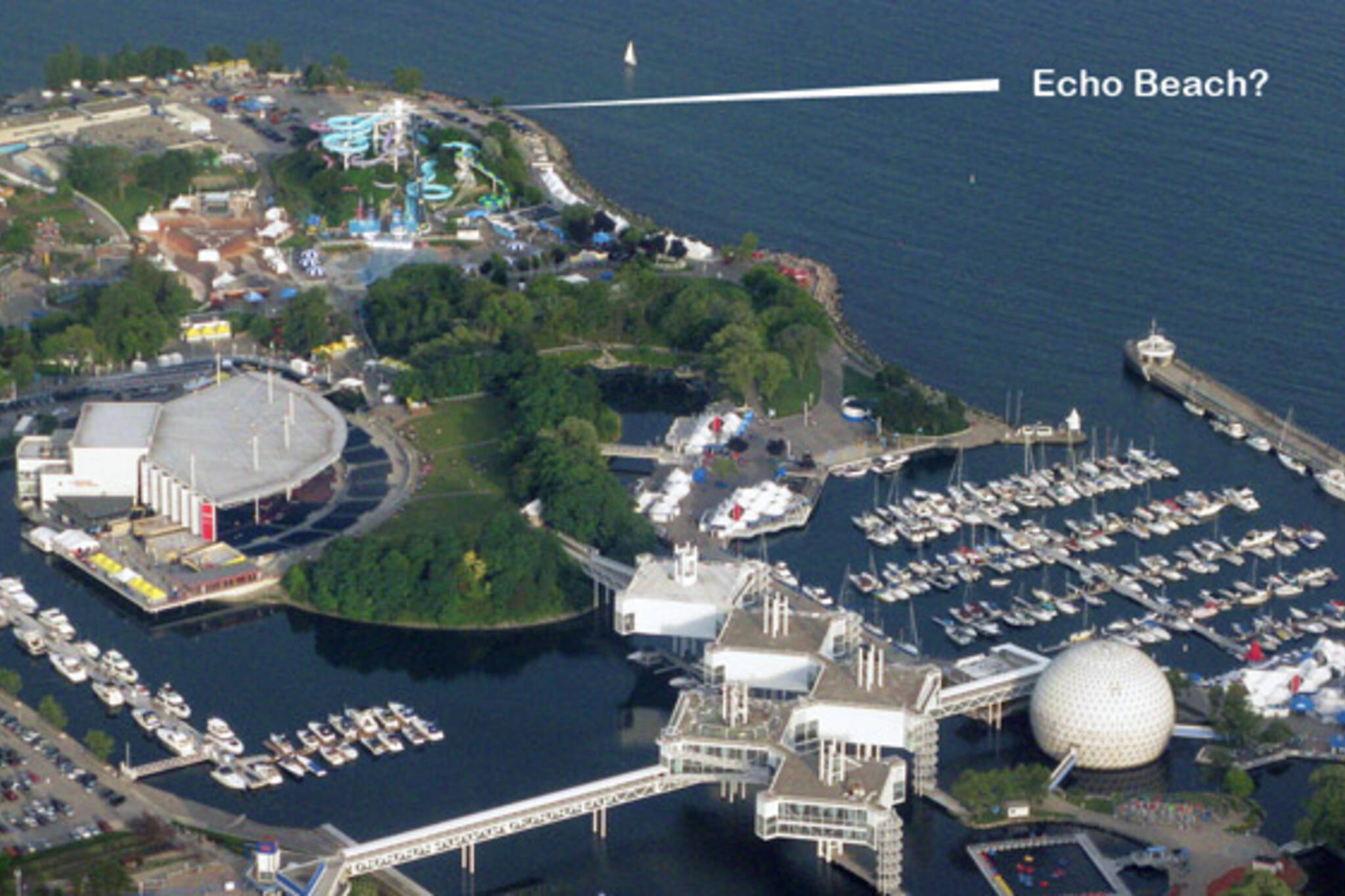 Echo Beach Concert Venue