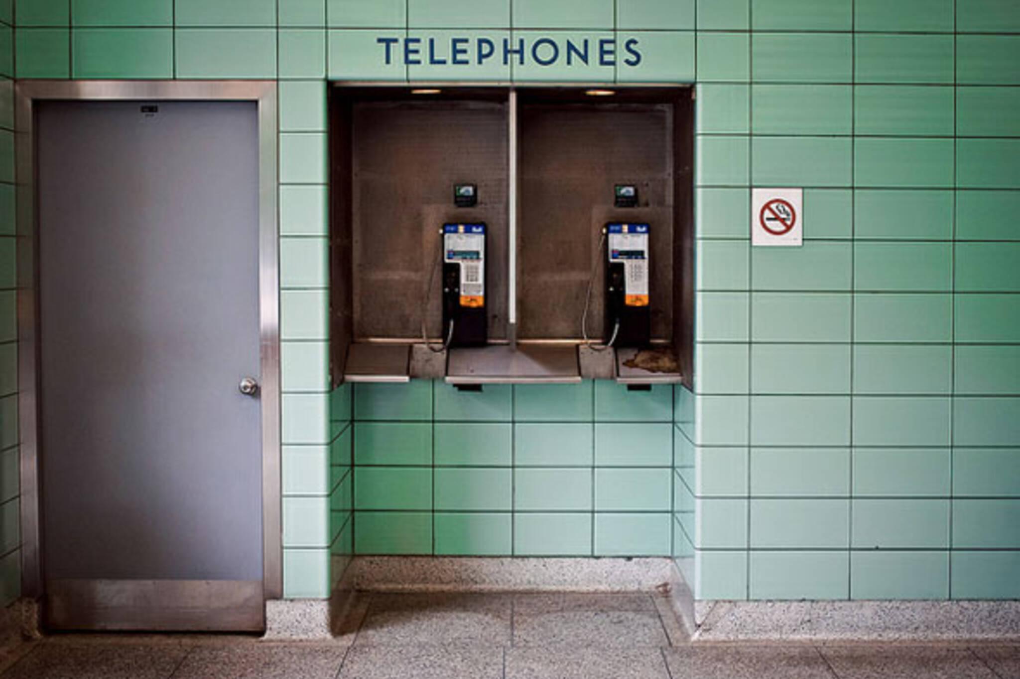 toronto ttc station telephones