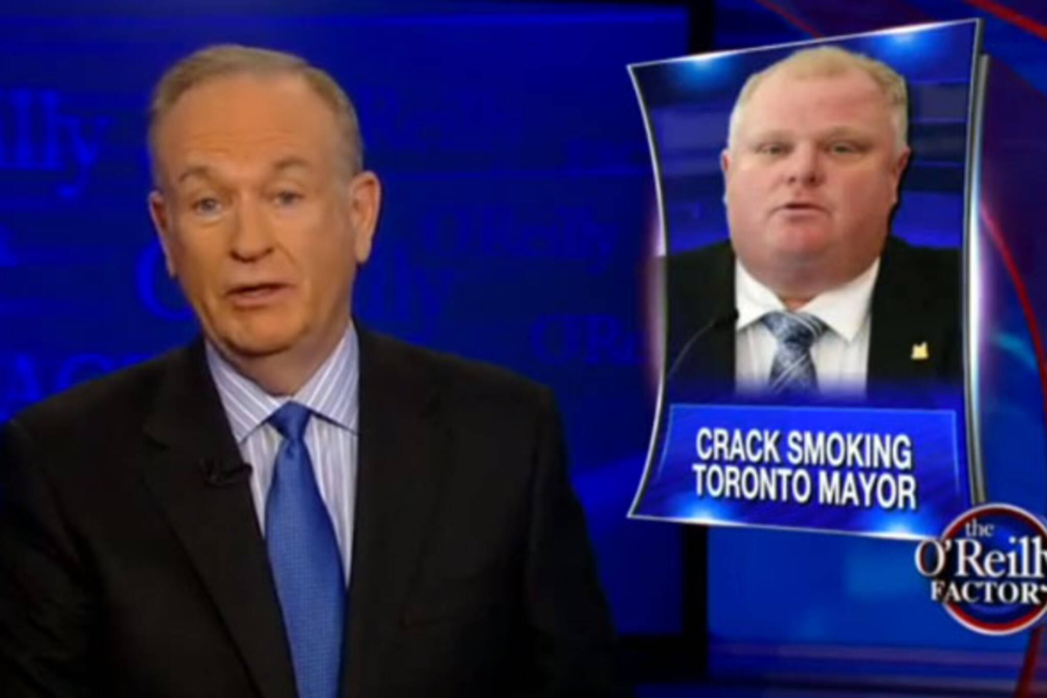 Oreilly Factor rob ford