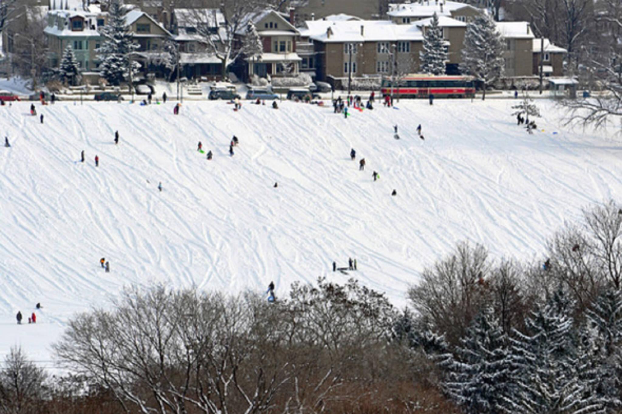 Snow Toronto January Weekend