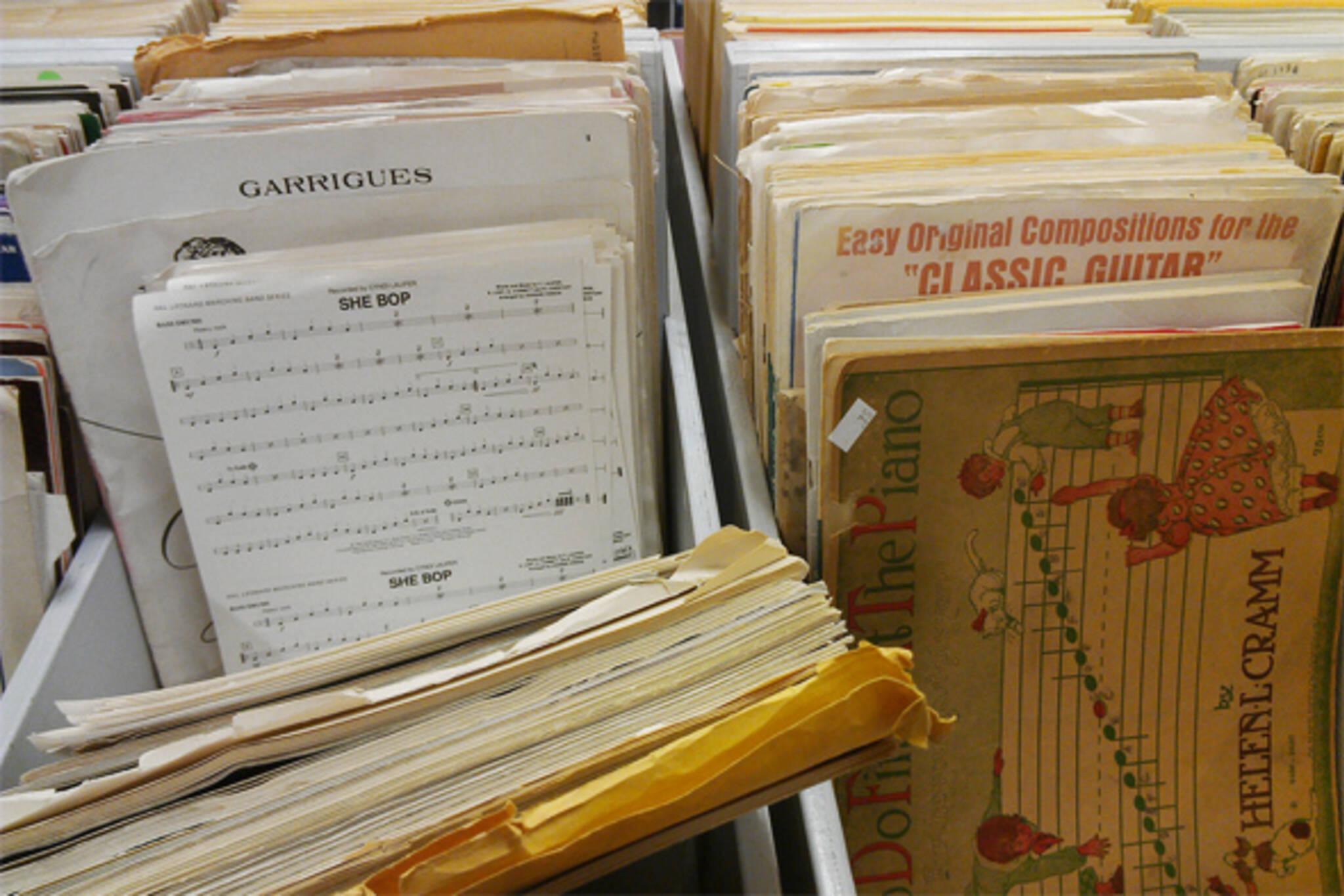 sheet music toronto
