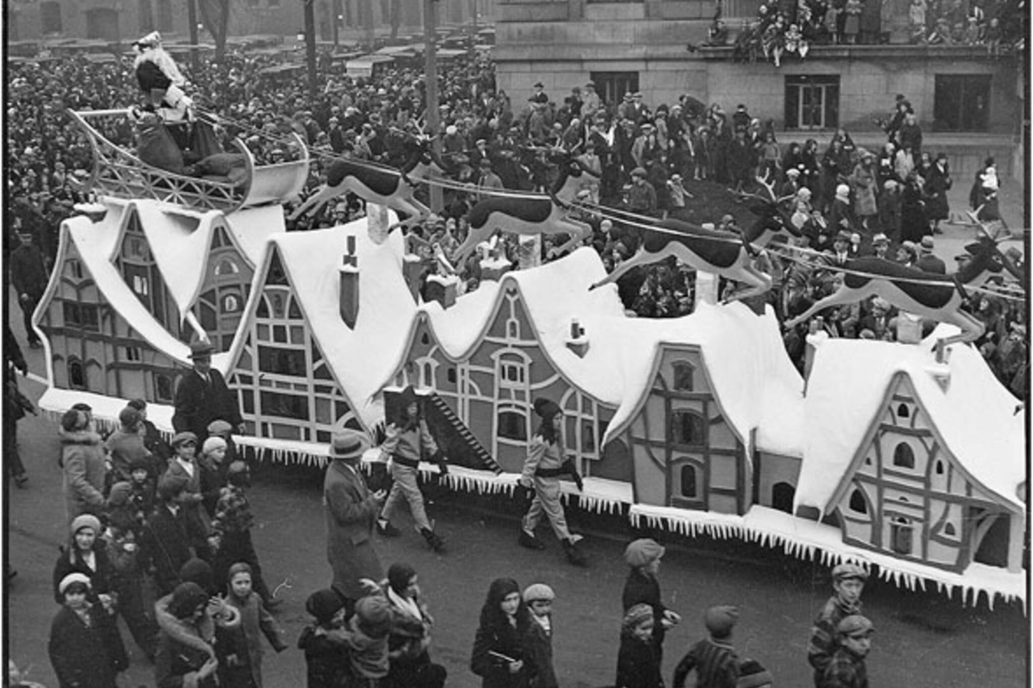 santa parade toronto