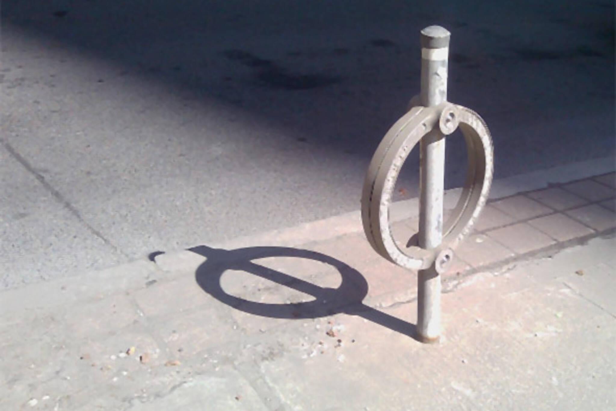 toronto abandoned bikes