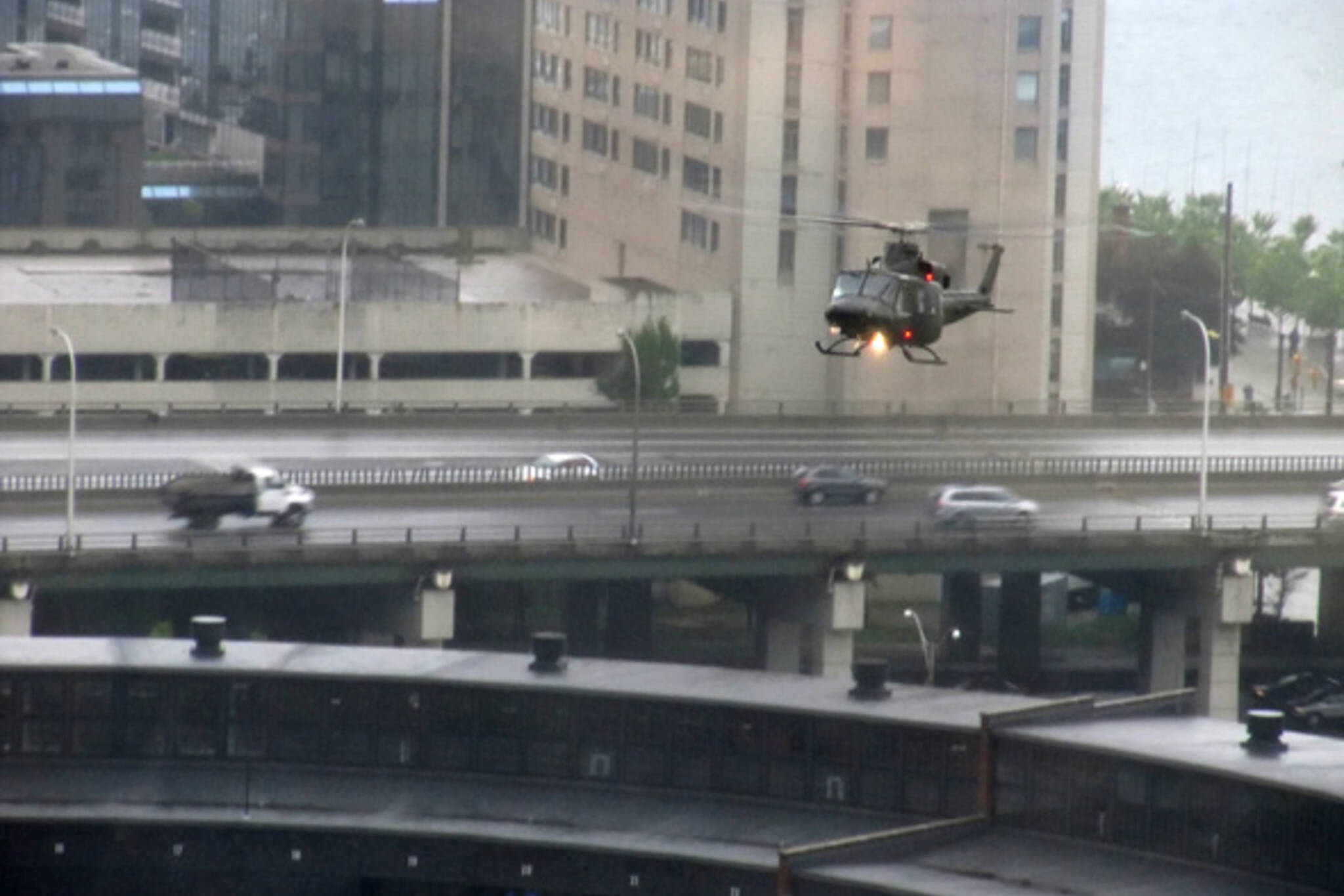 Helicopter G20 Toronto