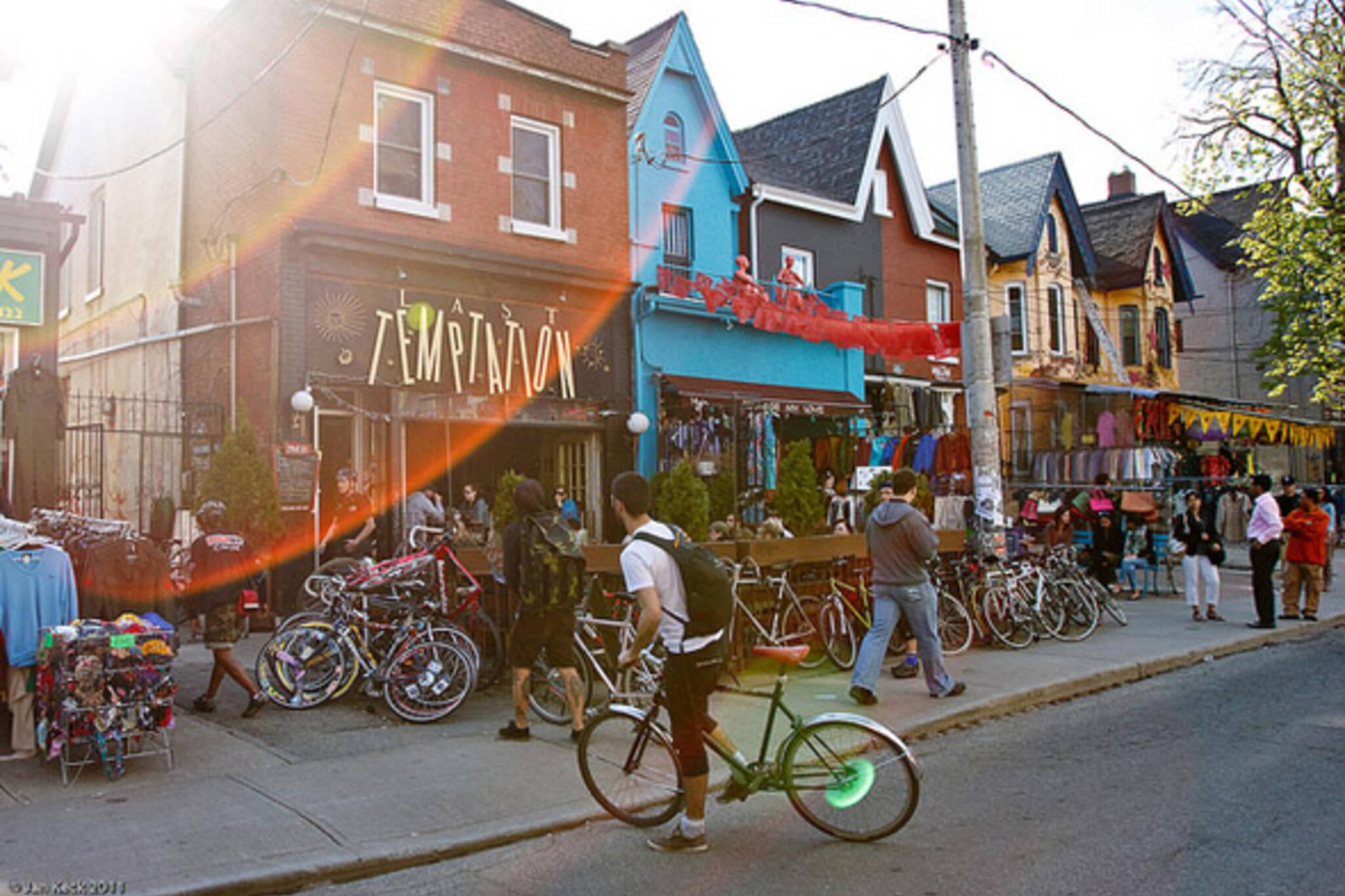 kensington, market, bikes