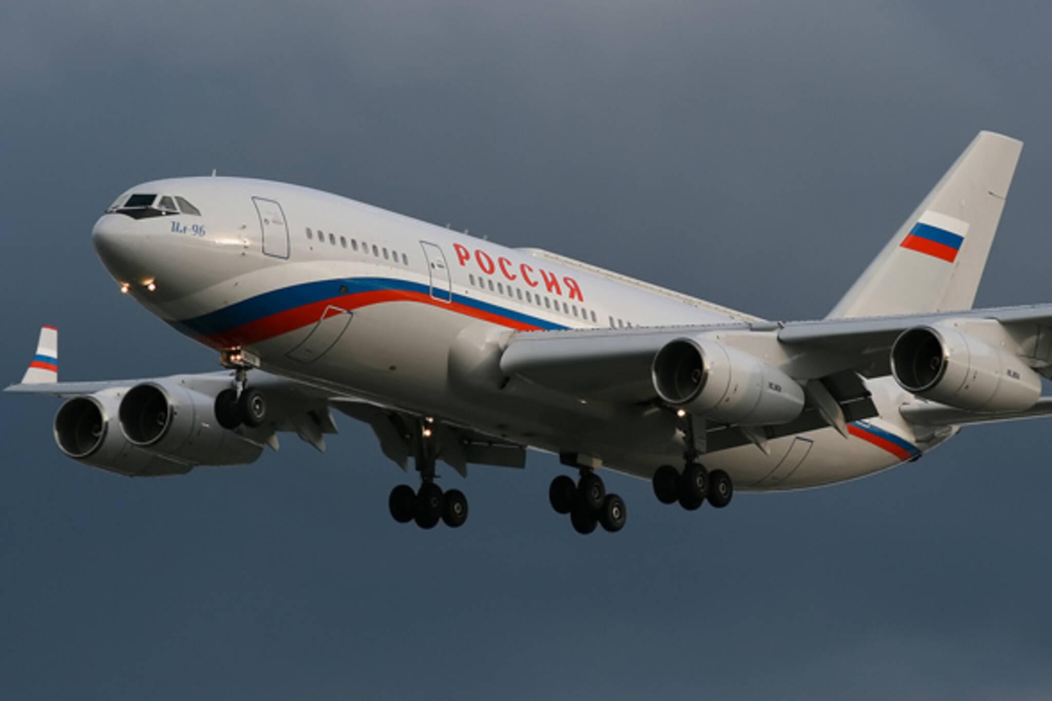 Russian plane G20