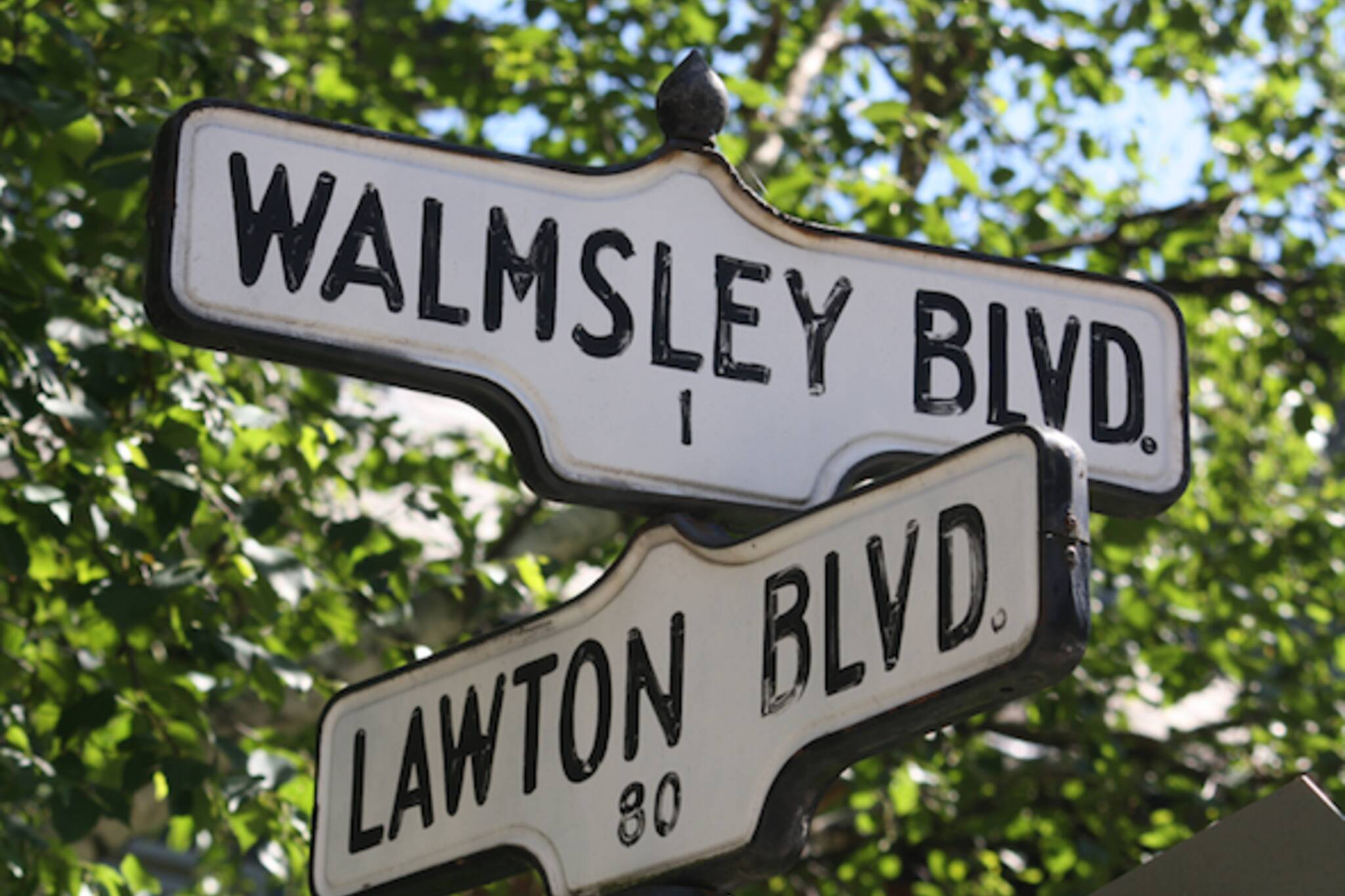 You could soon own a piece of the toronto streetscape for Street sign tattoos