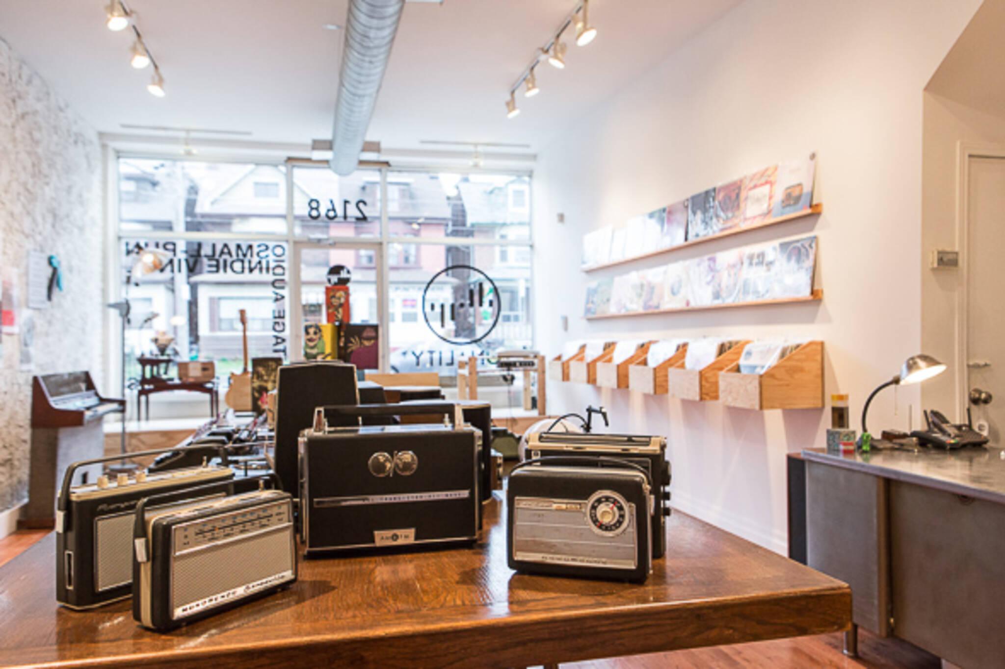 Toronto Record shop