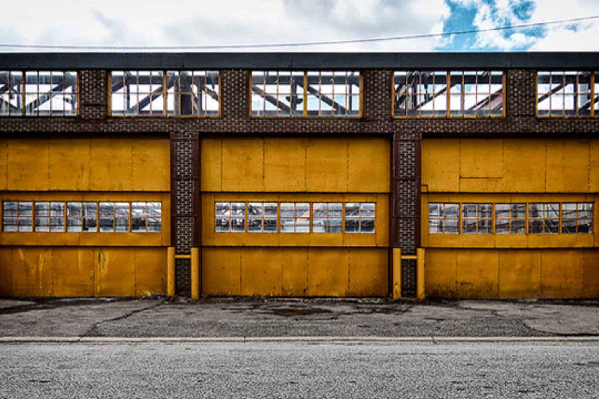toronto yellow door