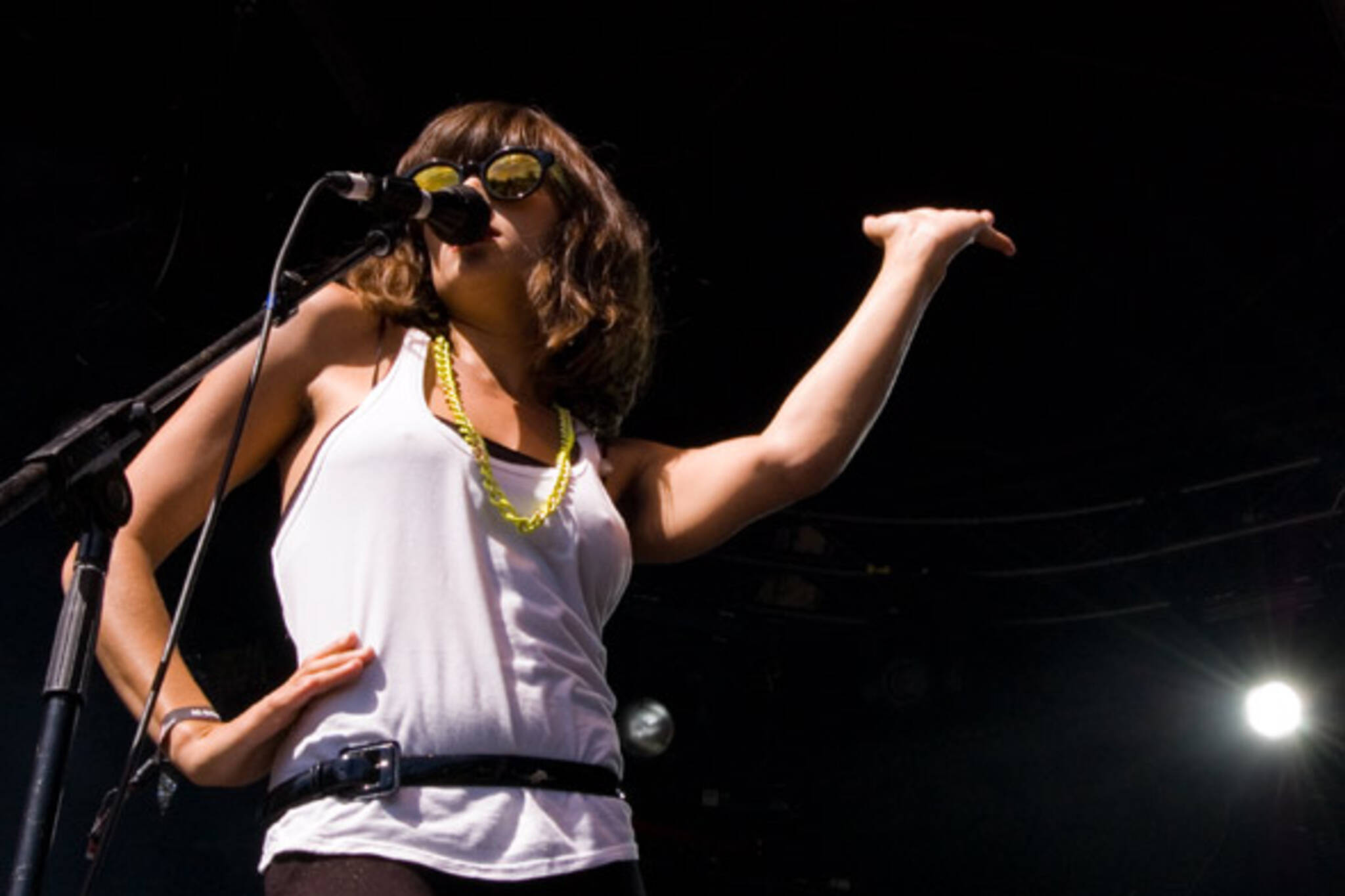 Dragonette lead singer Martina Sorbara, photo by Ryan Couldrey