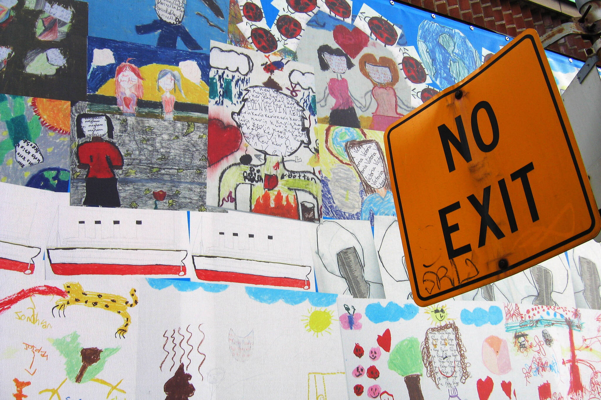 no exit map toronto