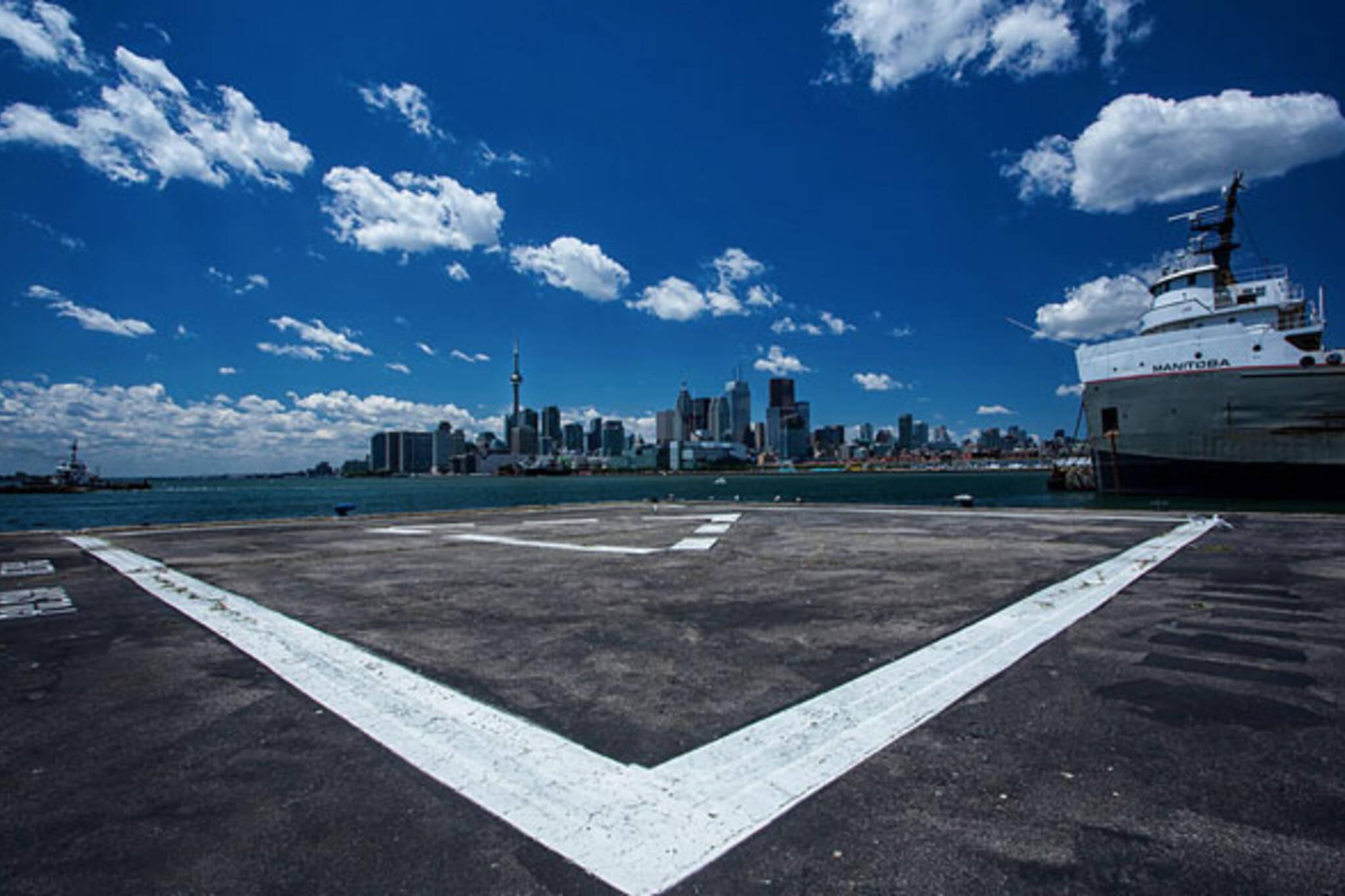 toronto skyline HMCS manitoba